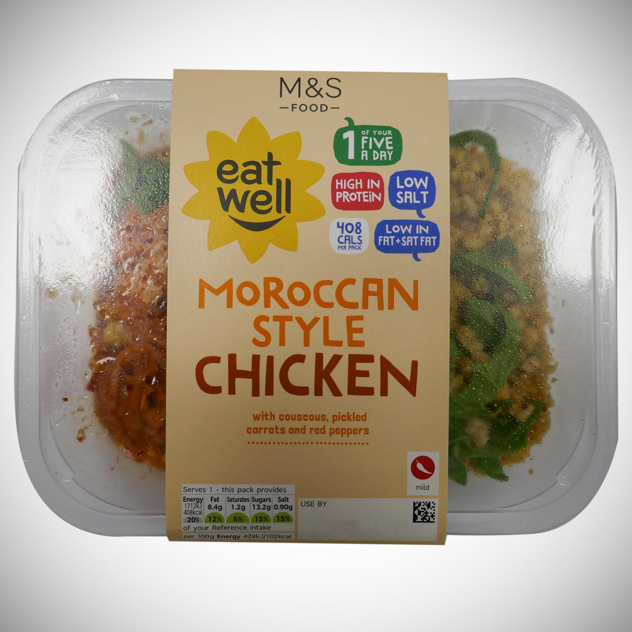 'Eat Well' Moroccan-Style Chicken 400g
