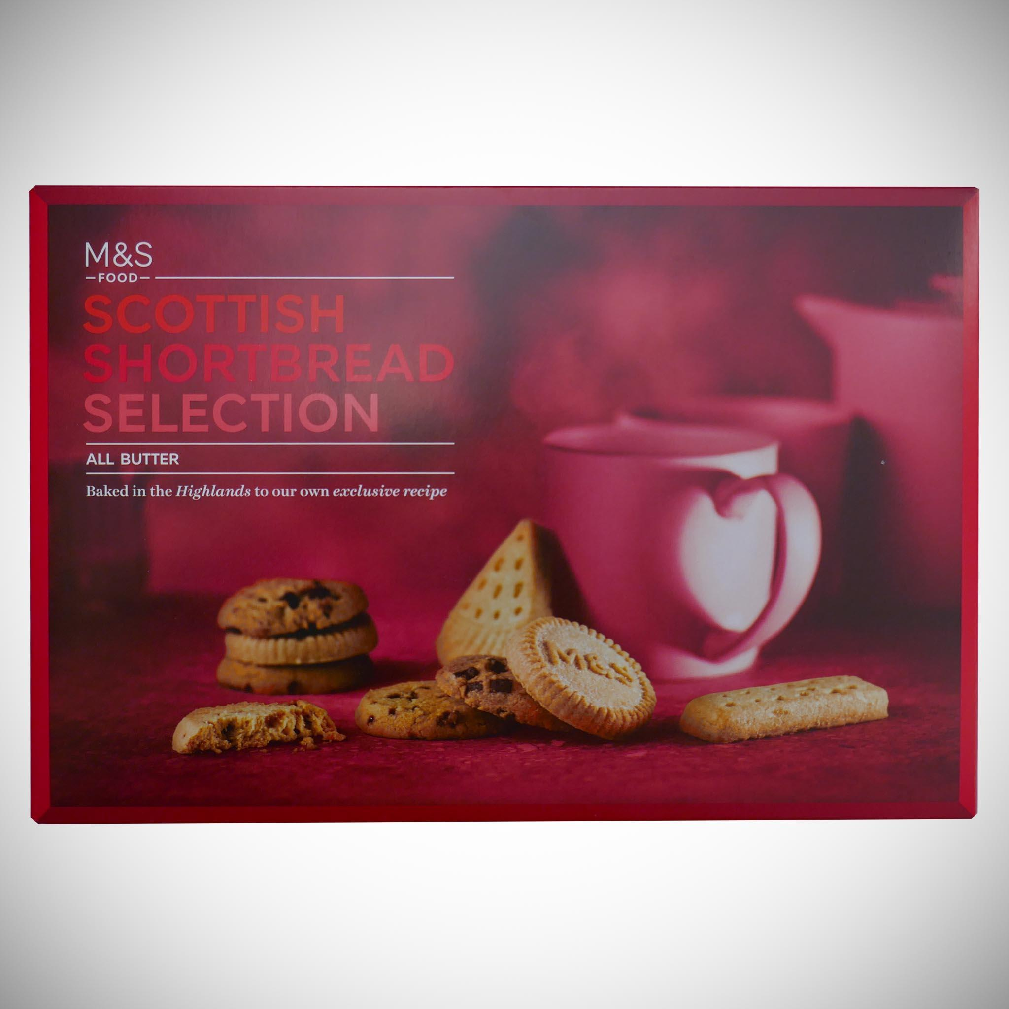 Scottish Shortbread Selection 450g
