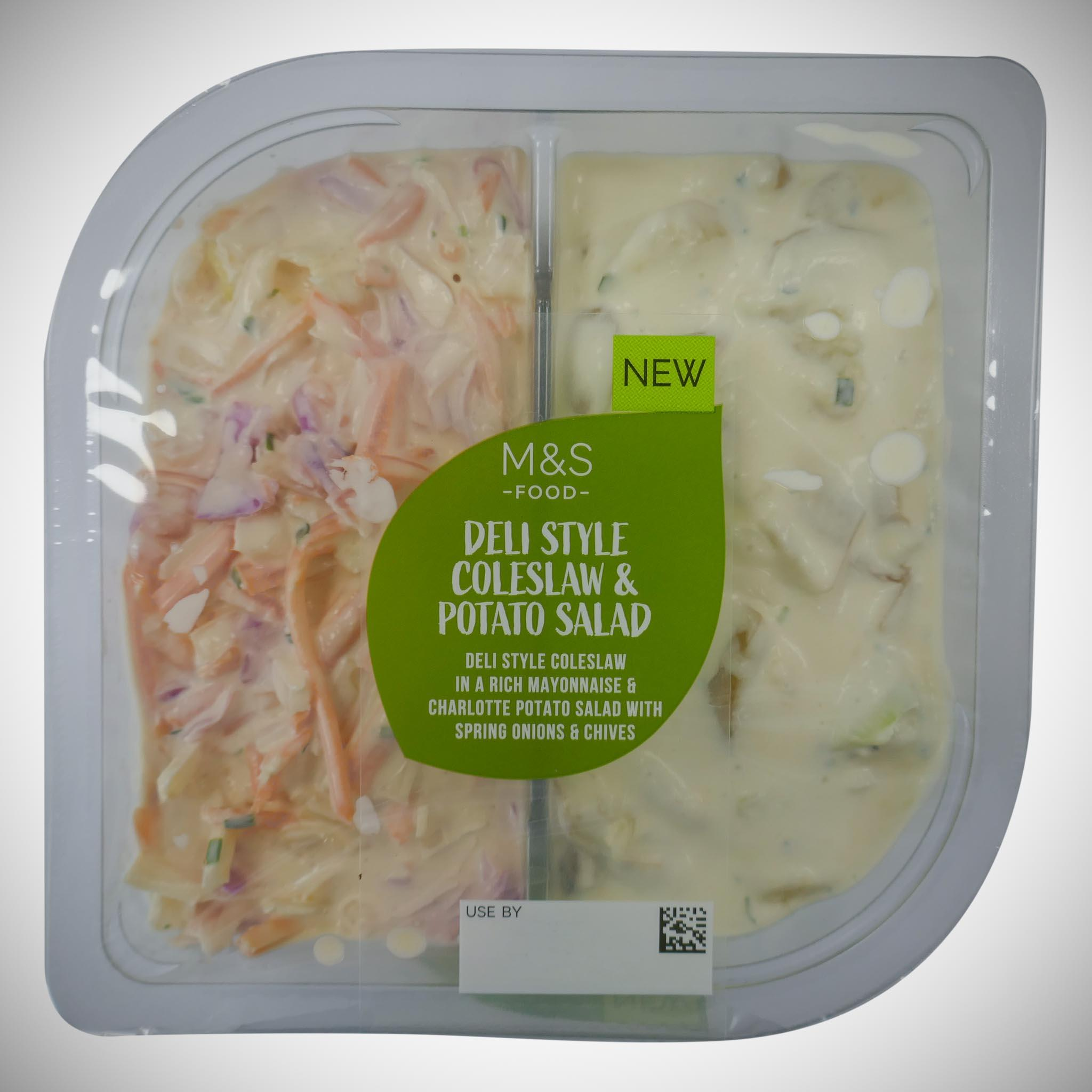 Coleslaw & Potato Salad Duo Pack 500g
