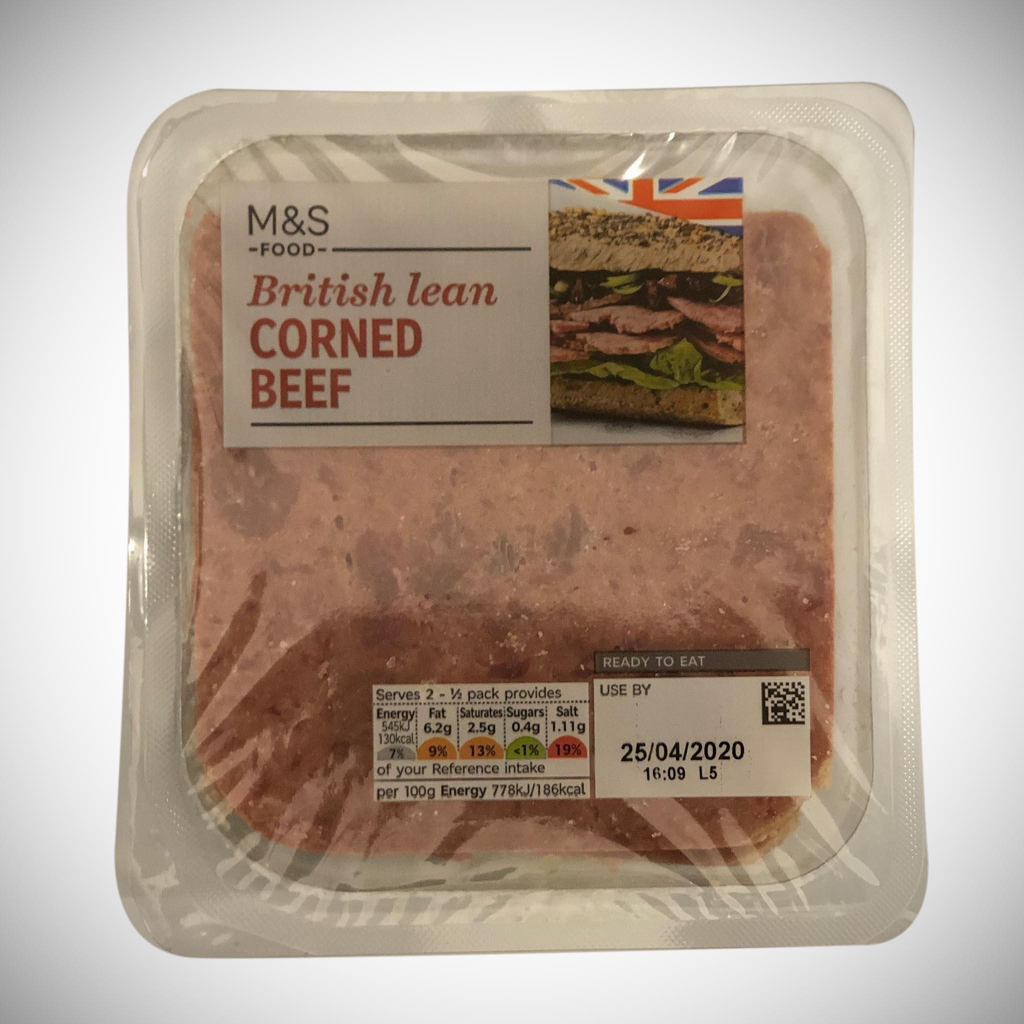 Sliced Corned Beef
