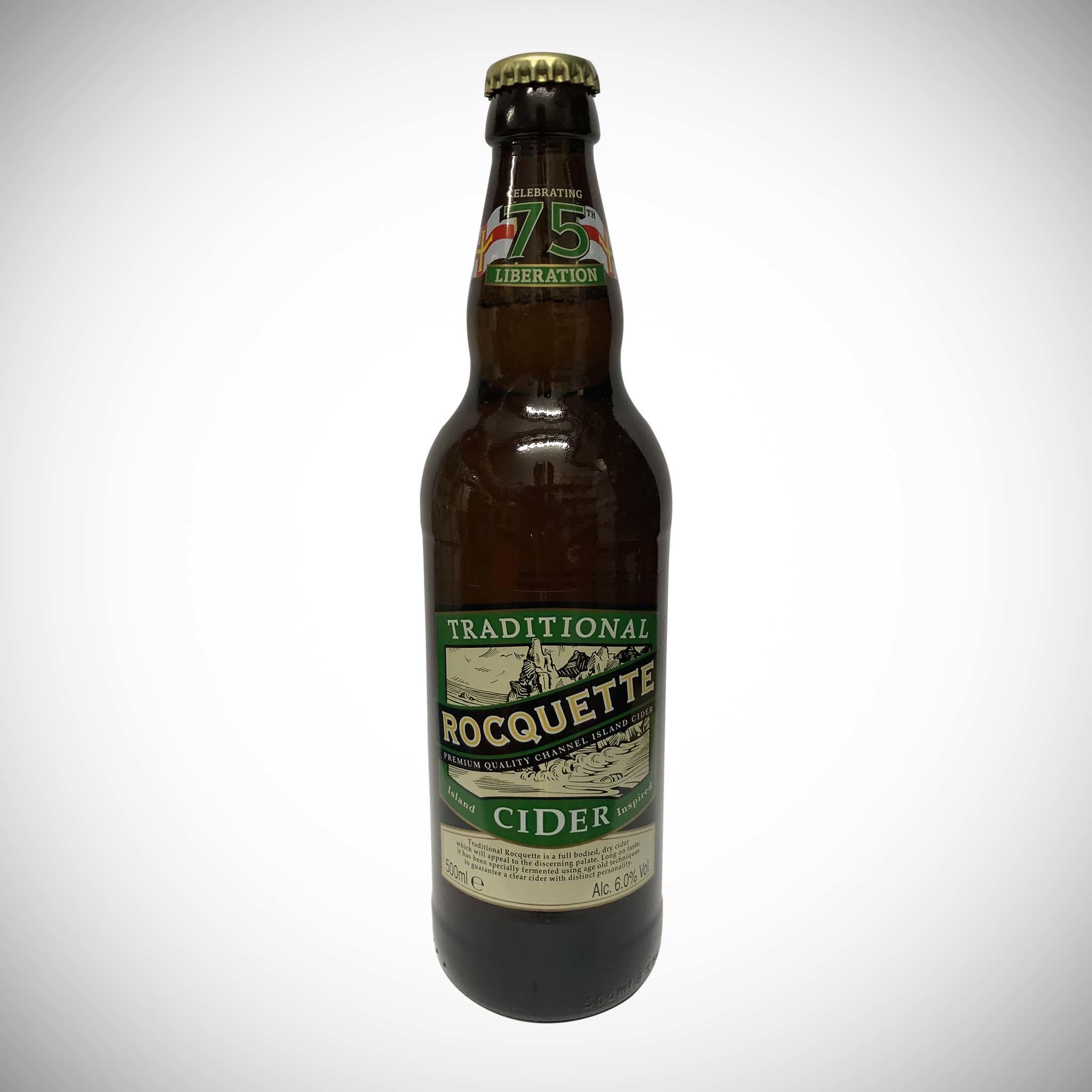 Traditional 500ml Rocquette Cider 6%