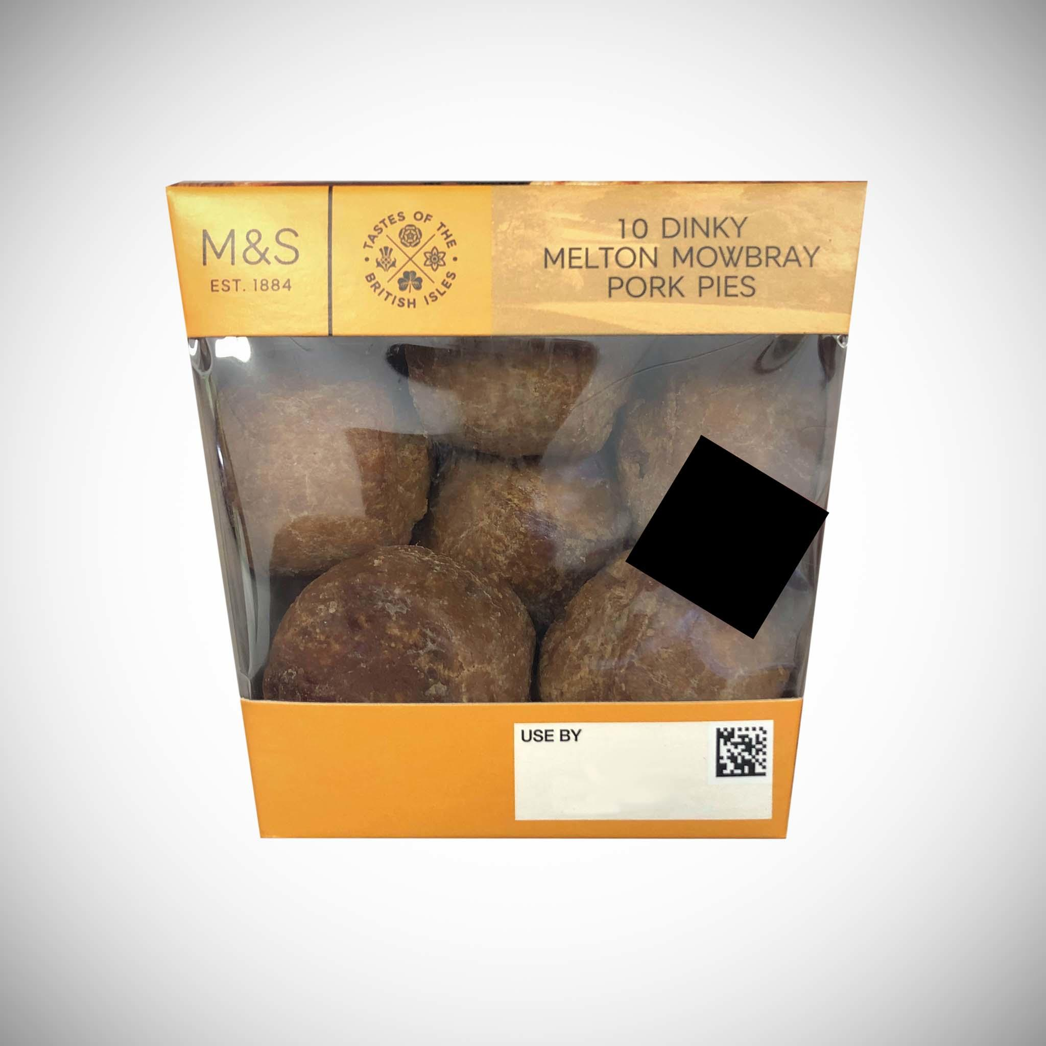 Dinky Melton Mowbray Pork Pies