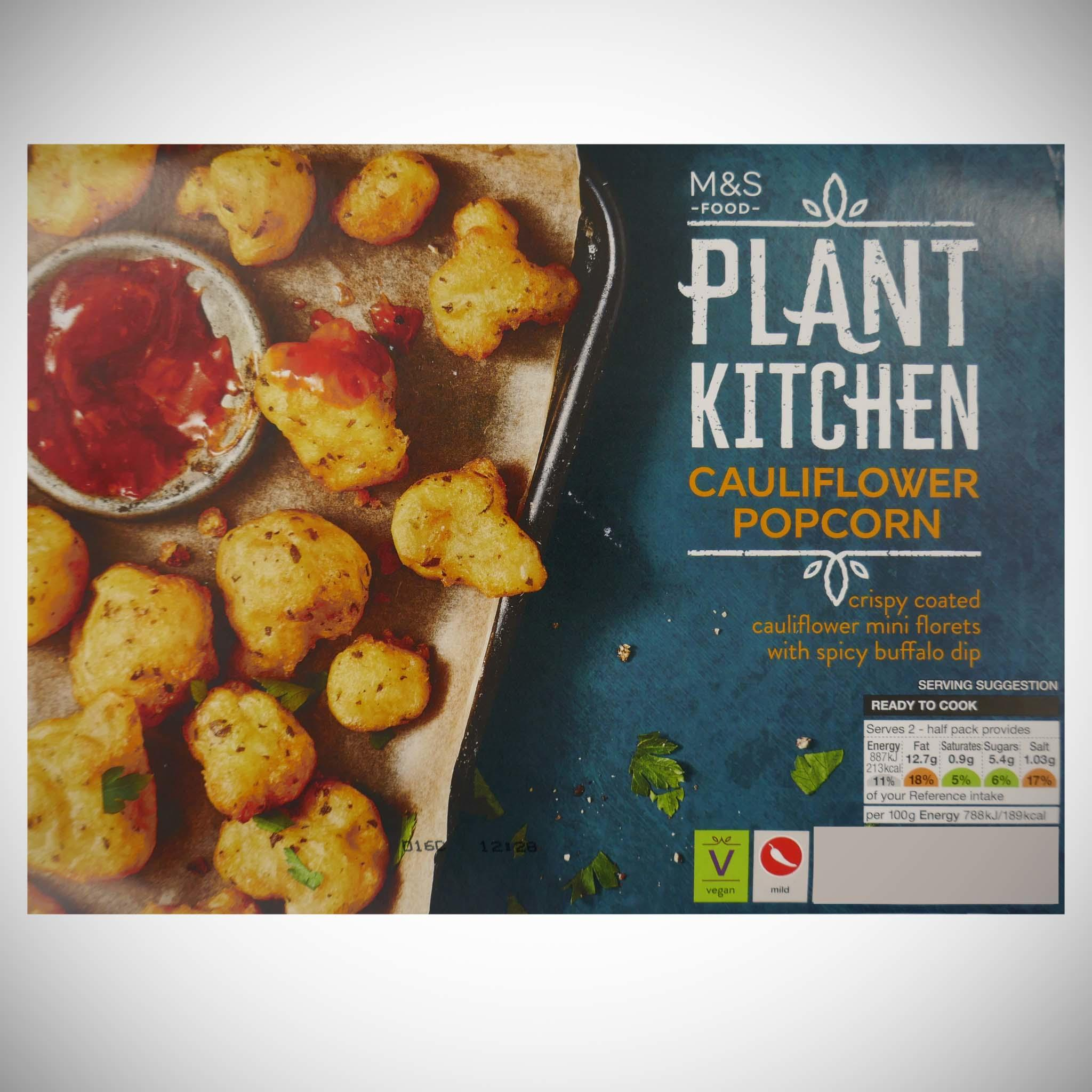 Plant Kitchen Cauliflower Popcorn