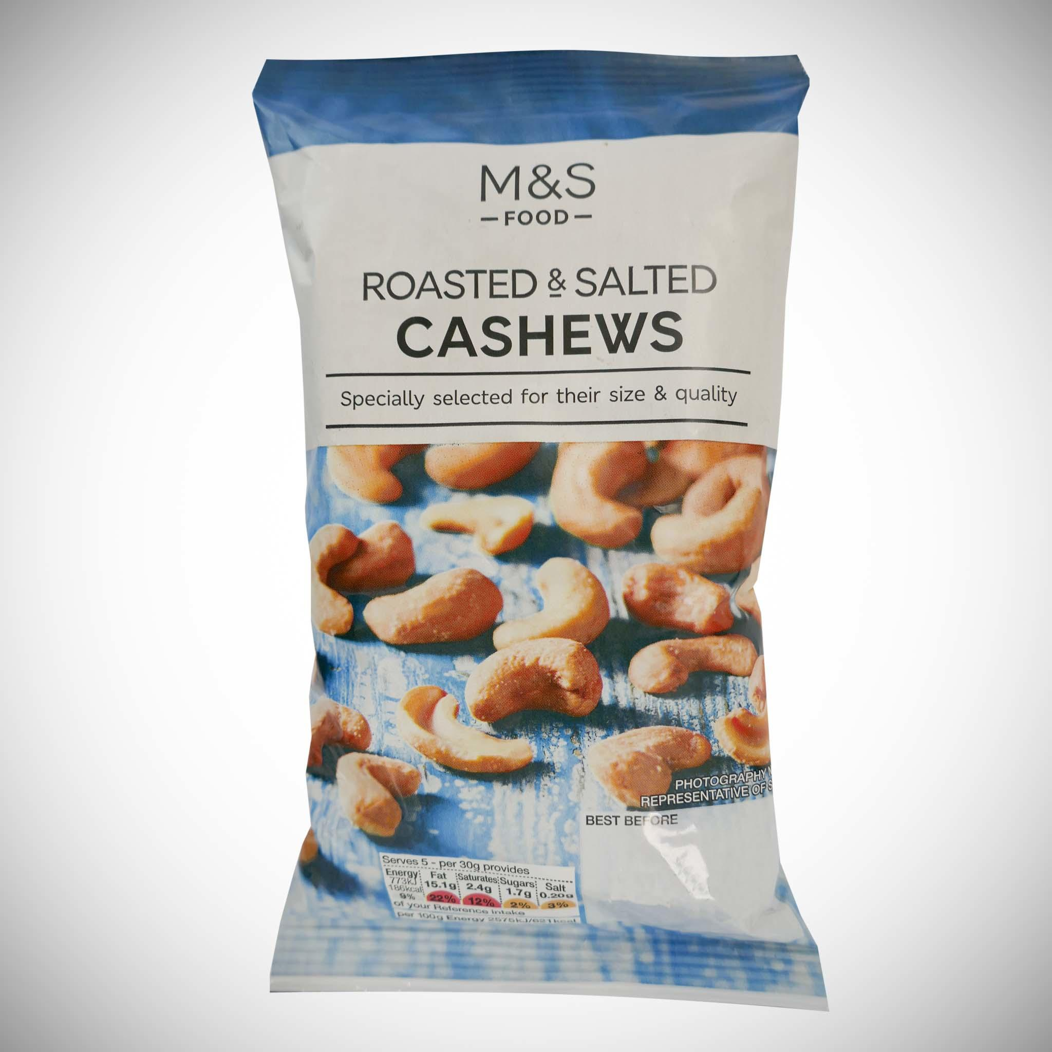 Roasted & Salted Cashews 150g