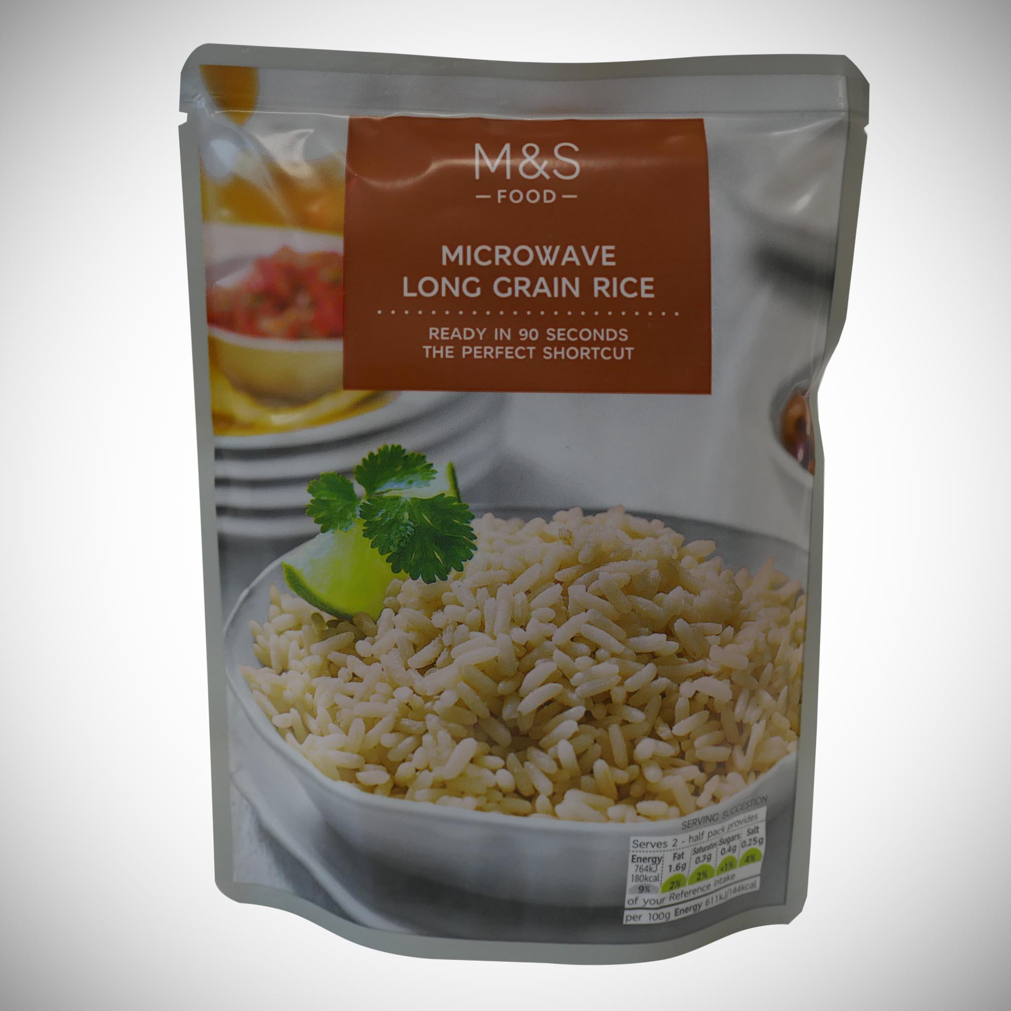 Microwave Long Grain Rice 250g