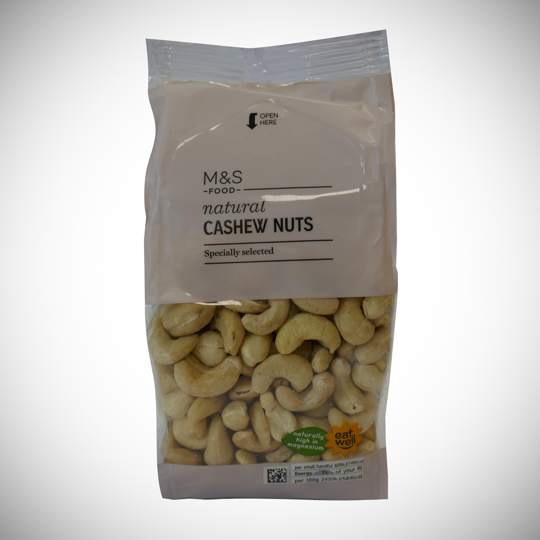 Natural Cashew Nuts 350g