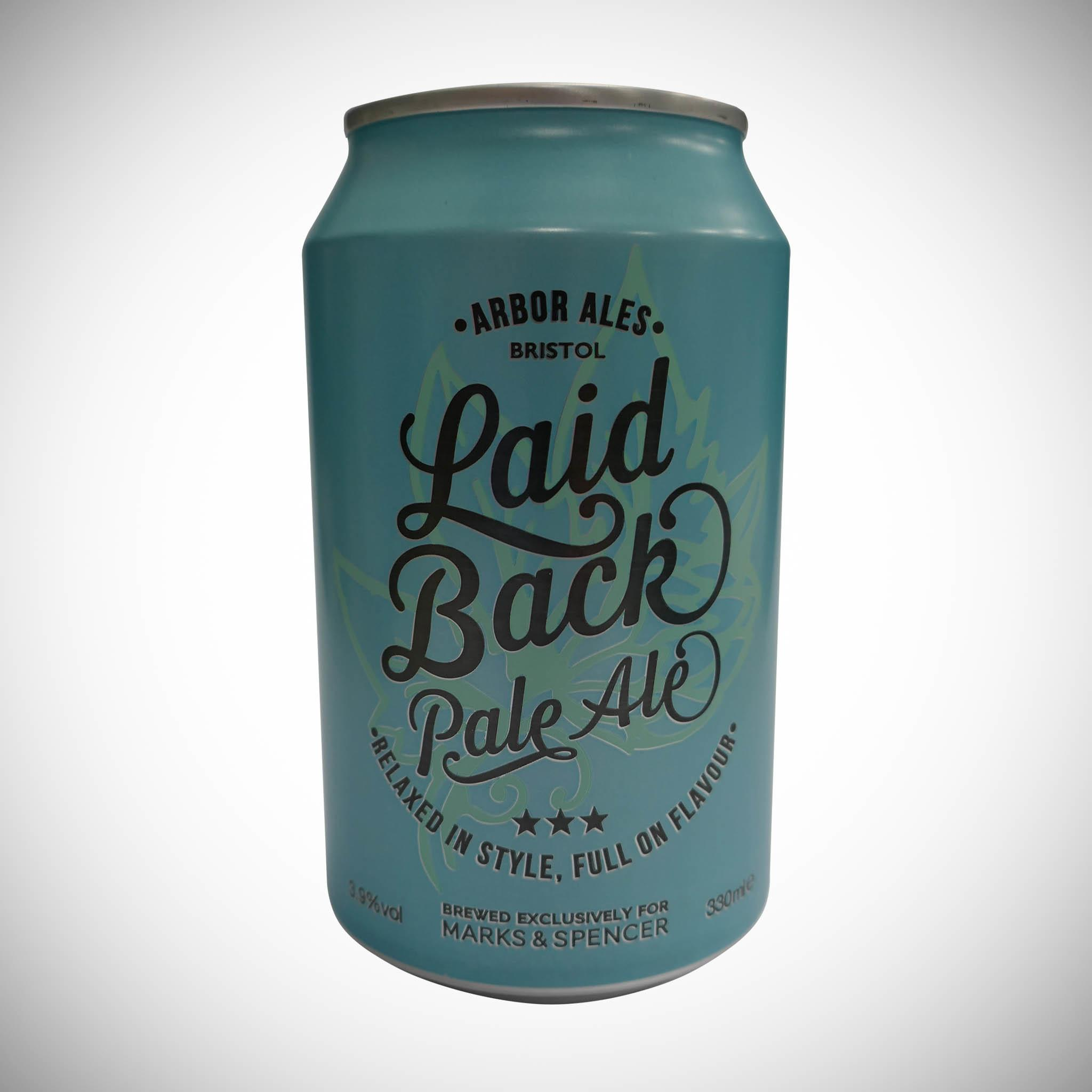 Laid Back Pale Ale 330ml