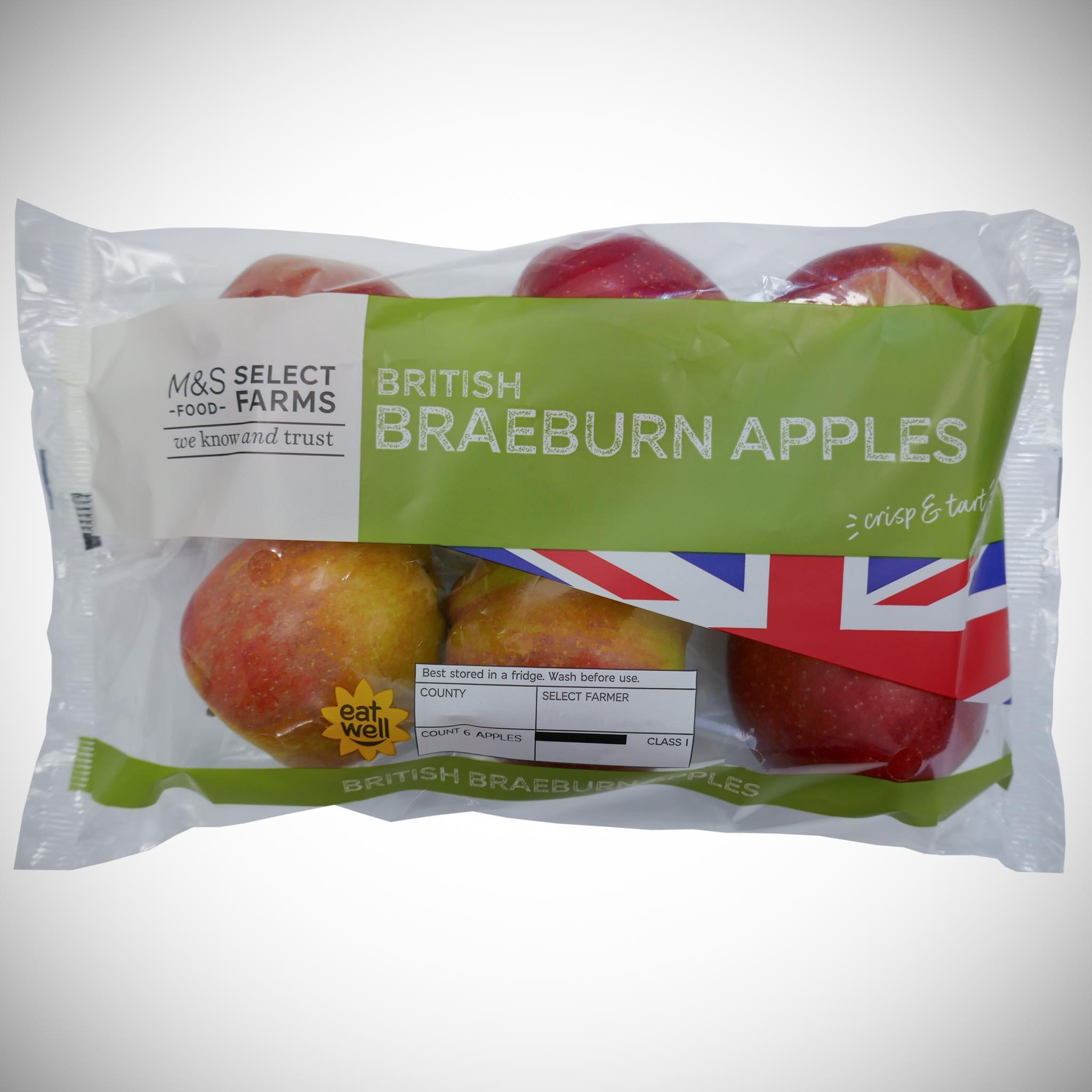 Braeburn Apples x 6