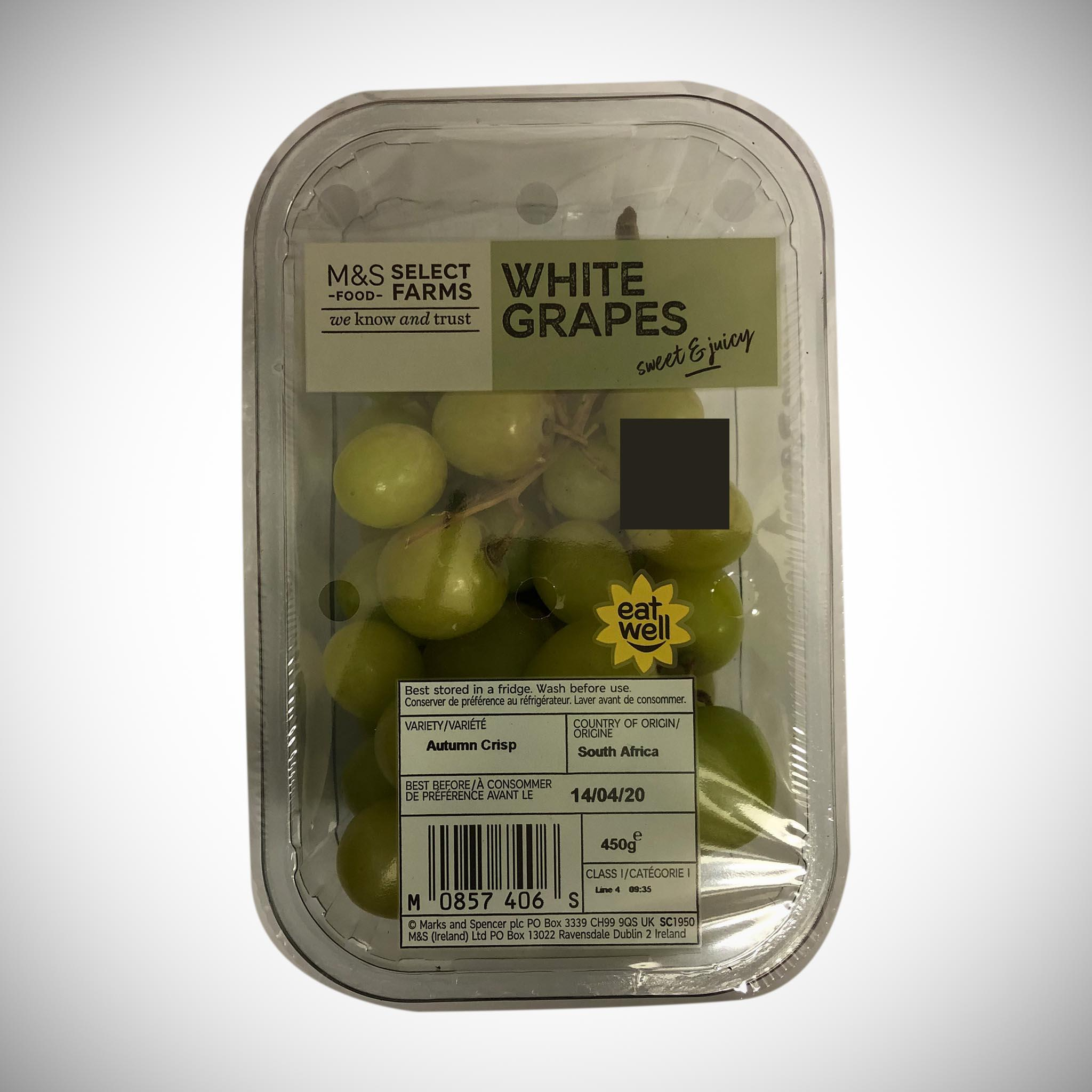 White Grape Pack 450g