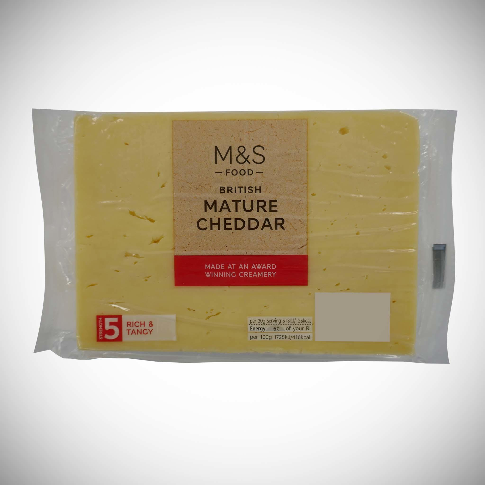 British Mature Cheddar 350g
