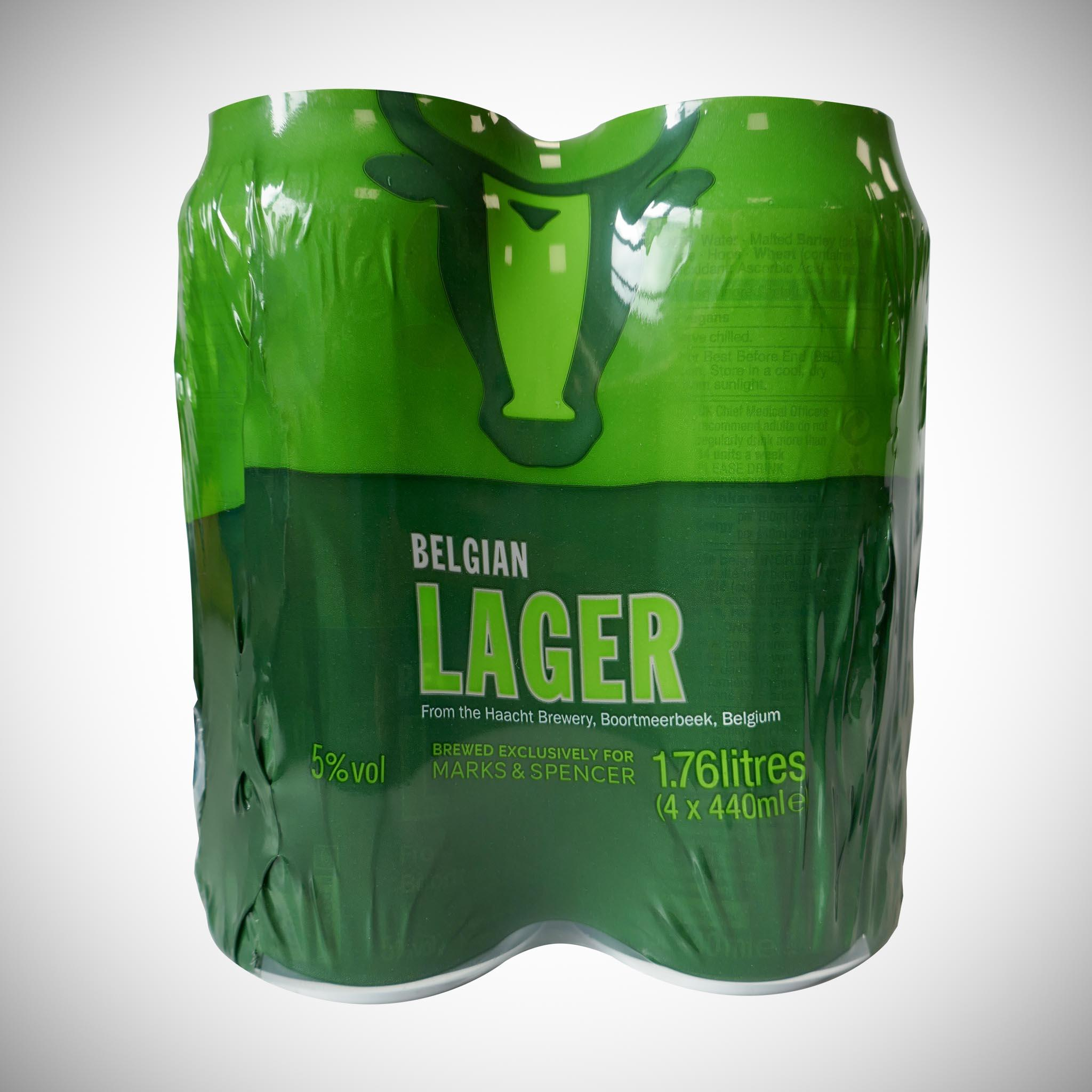 Belgian Lager 4 x 440ml Pack