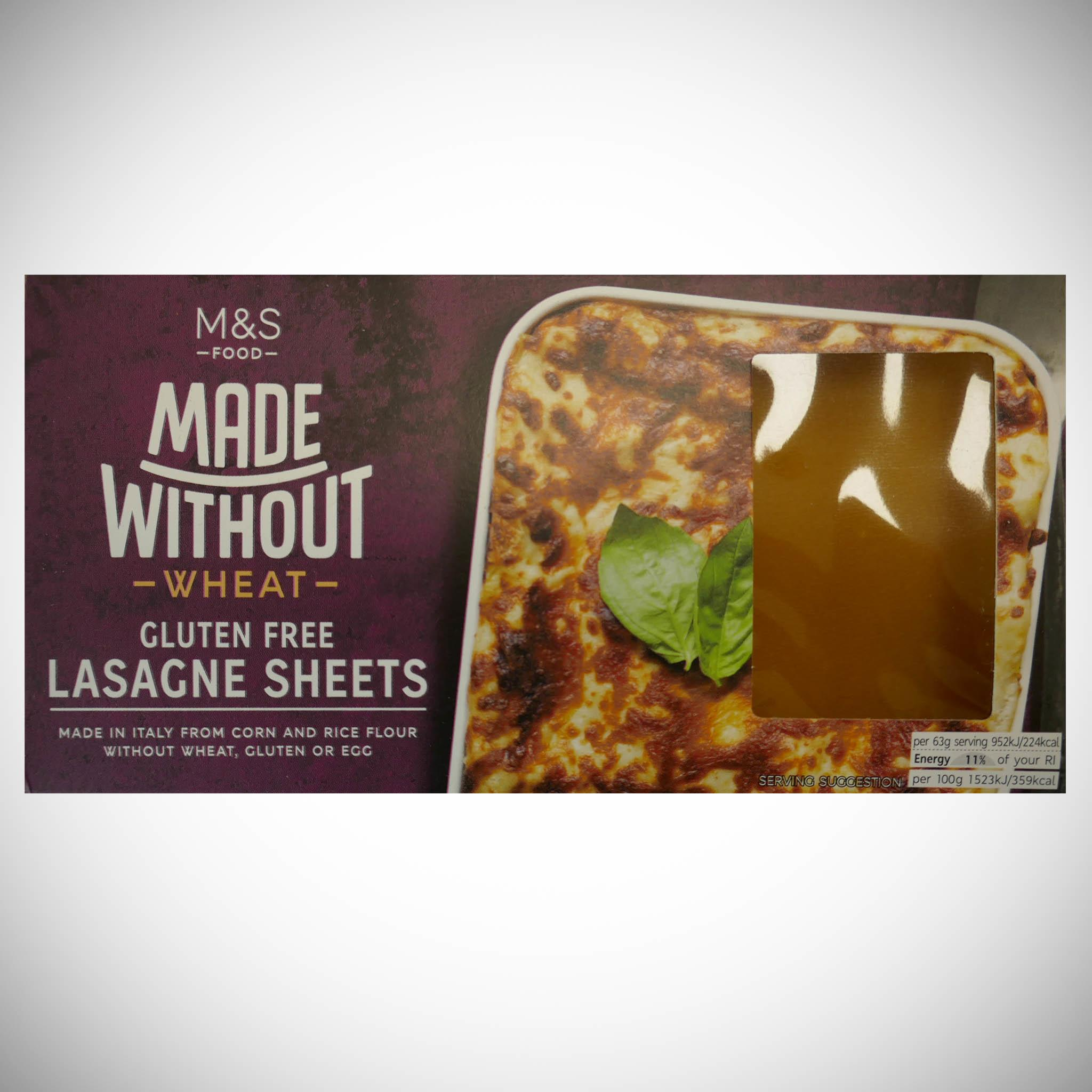 Made Without Lasagne Sheets 250g
