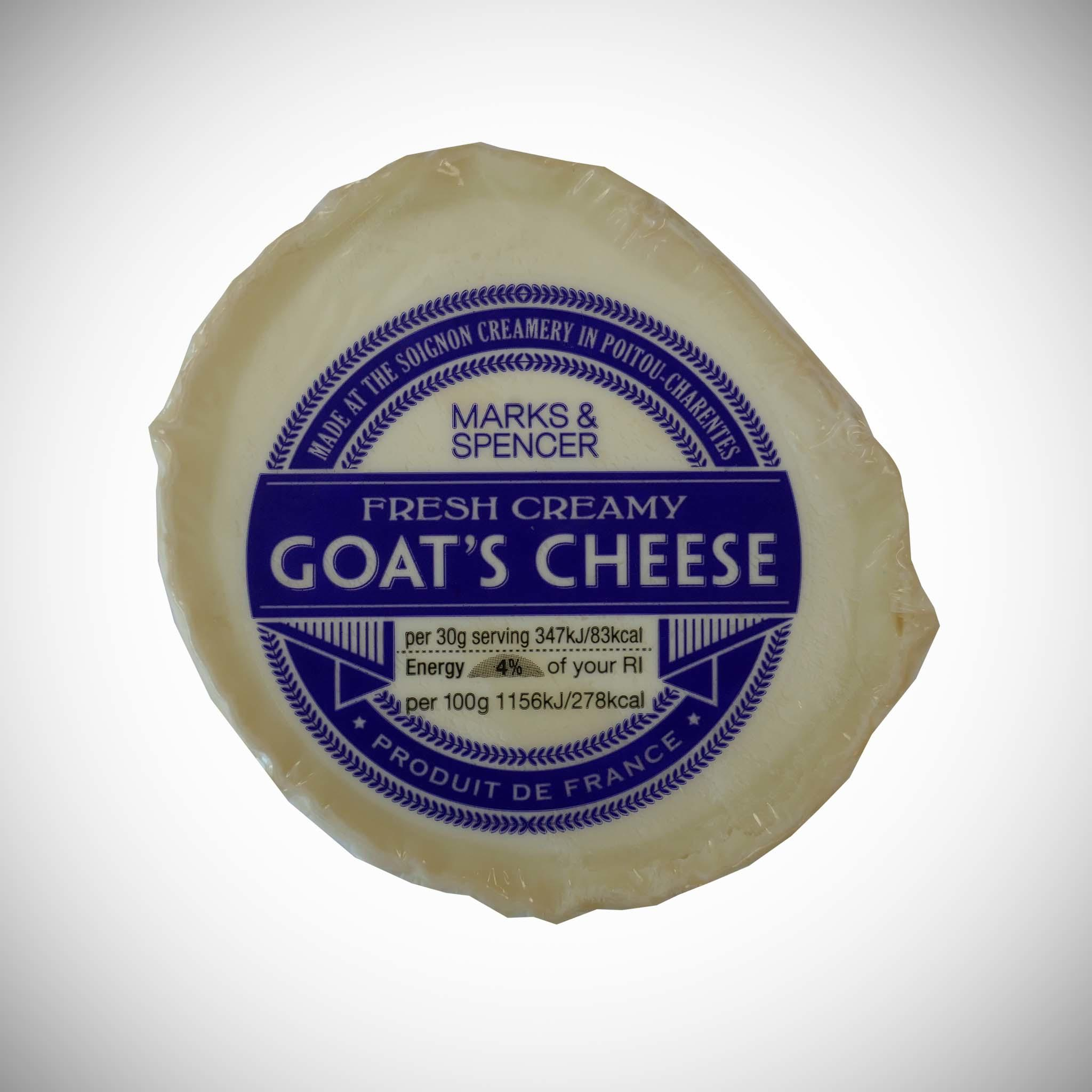 Goats Cheese Firm and Mild 120g