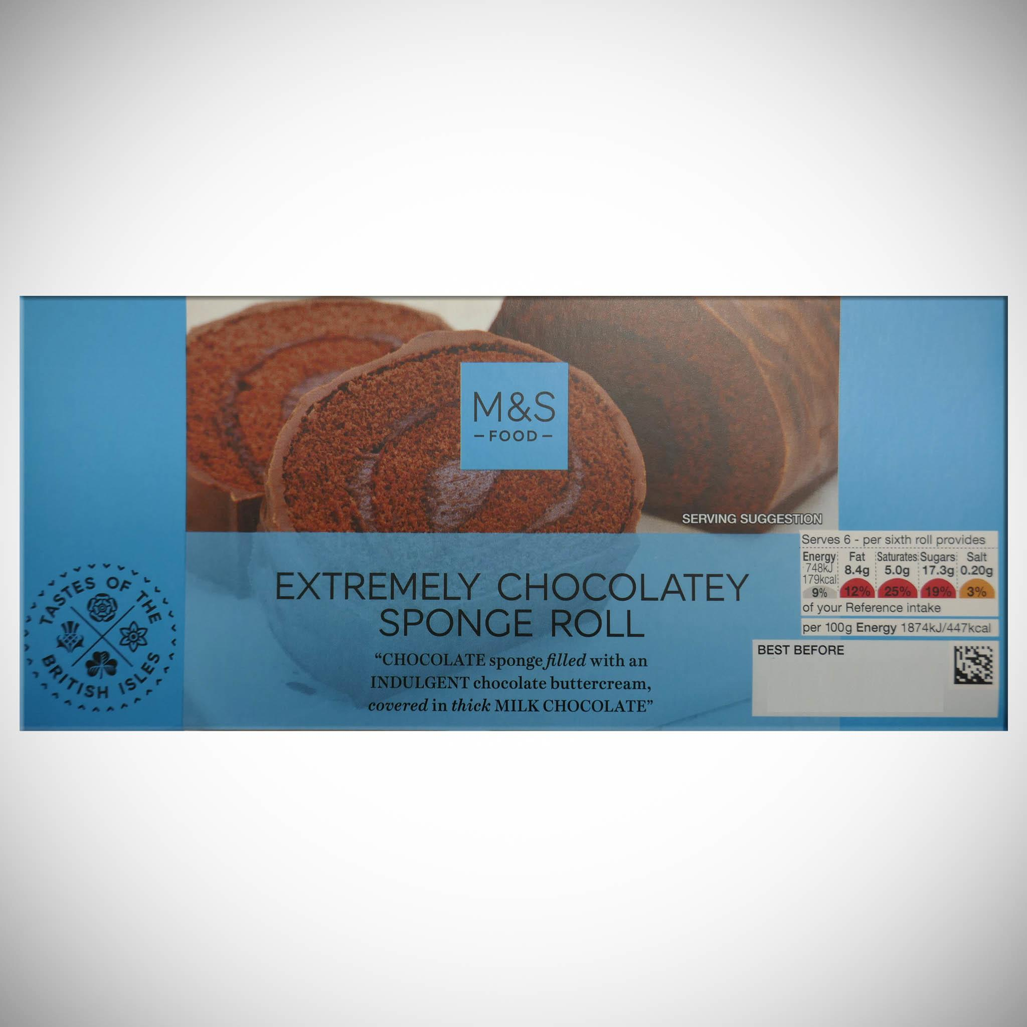 Chocolate Swiss Roll 225g