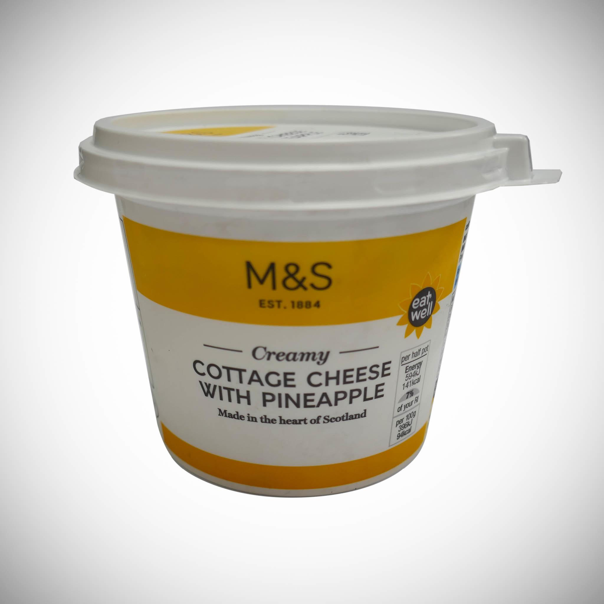 Cottage Cheese with Pineapple 300g