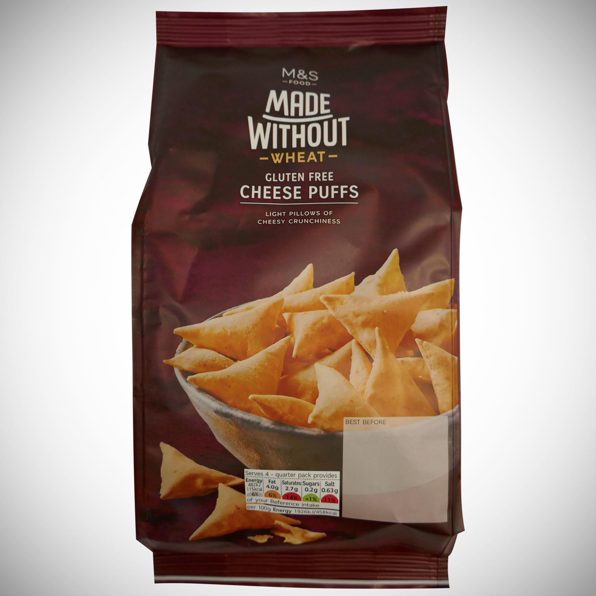 Made Without Wheat Cheese Puffs 100g