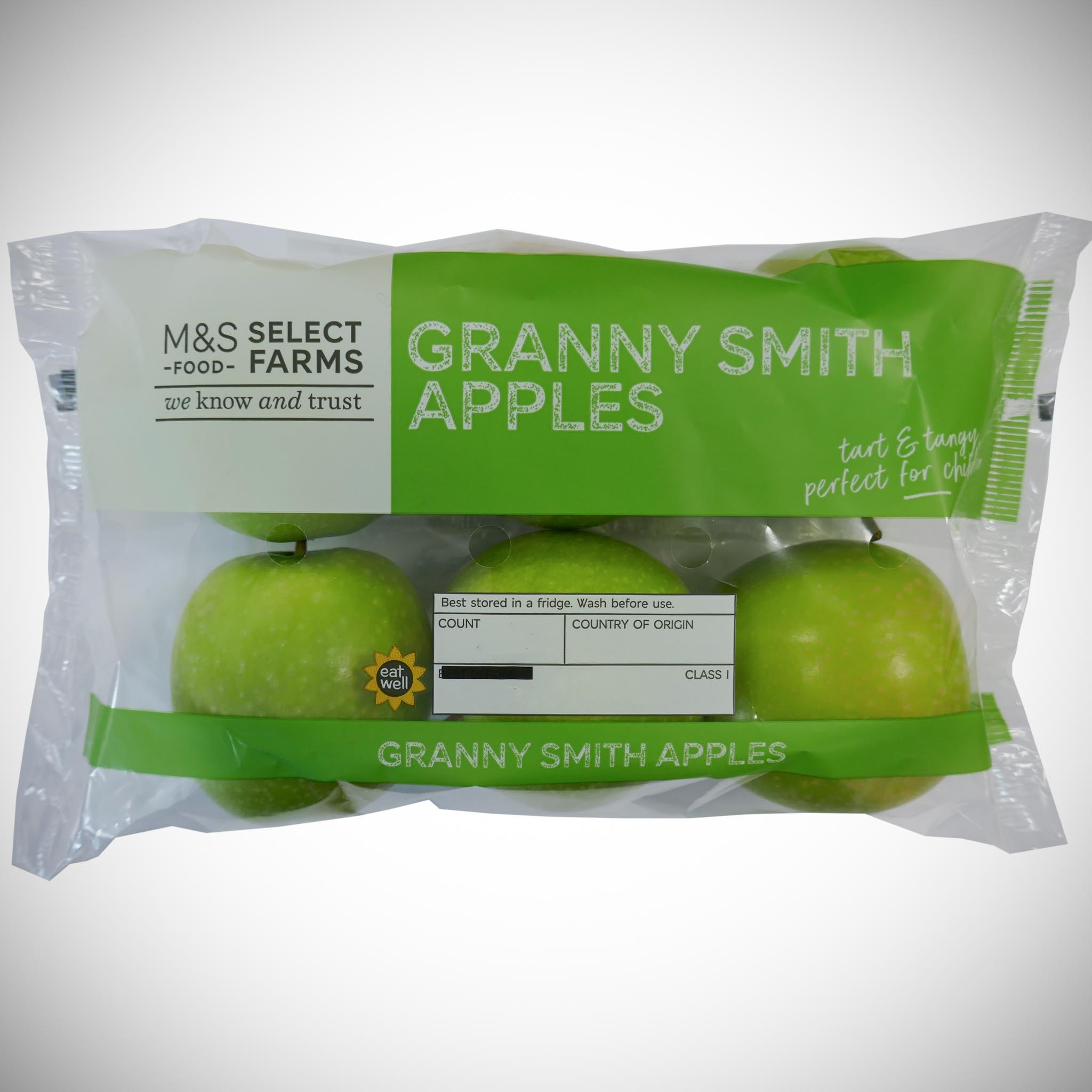 Granny Smith Apples x 6