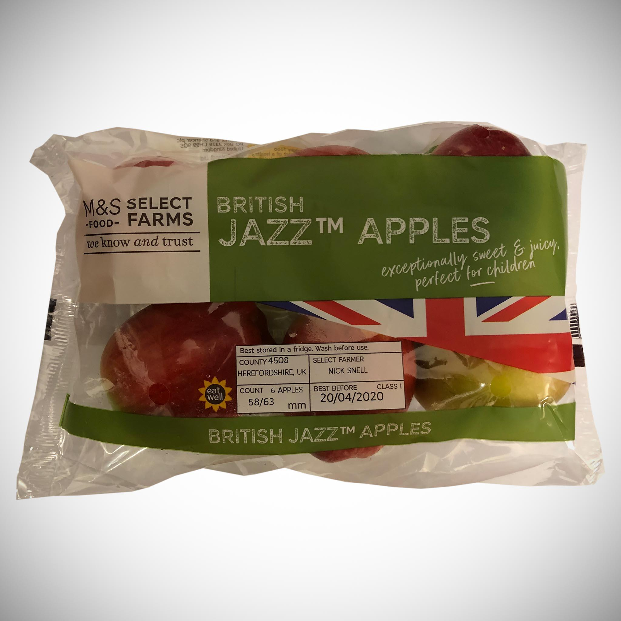 Apple Jazz Bag x 6