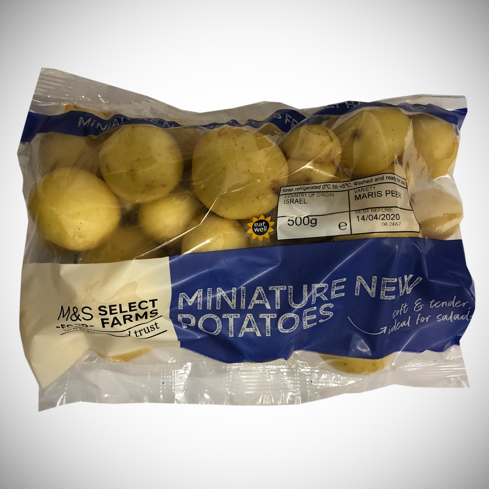 Miniature New Potatoes 500g