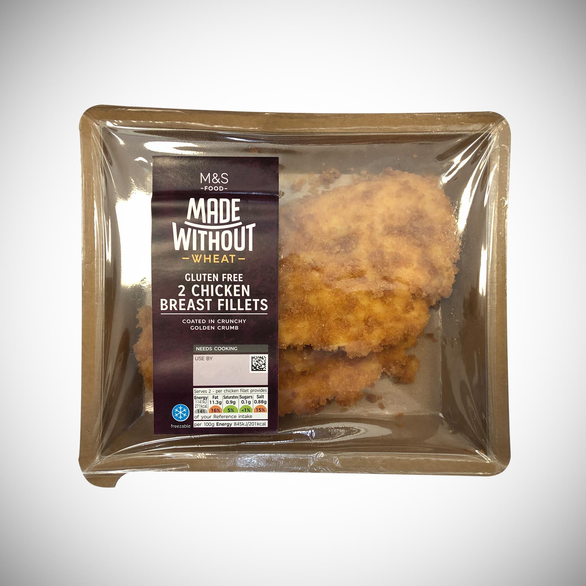Made Without Wheat 2 Chicken Breast Fillets 270g
