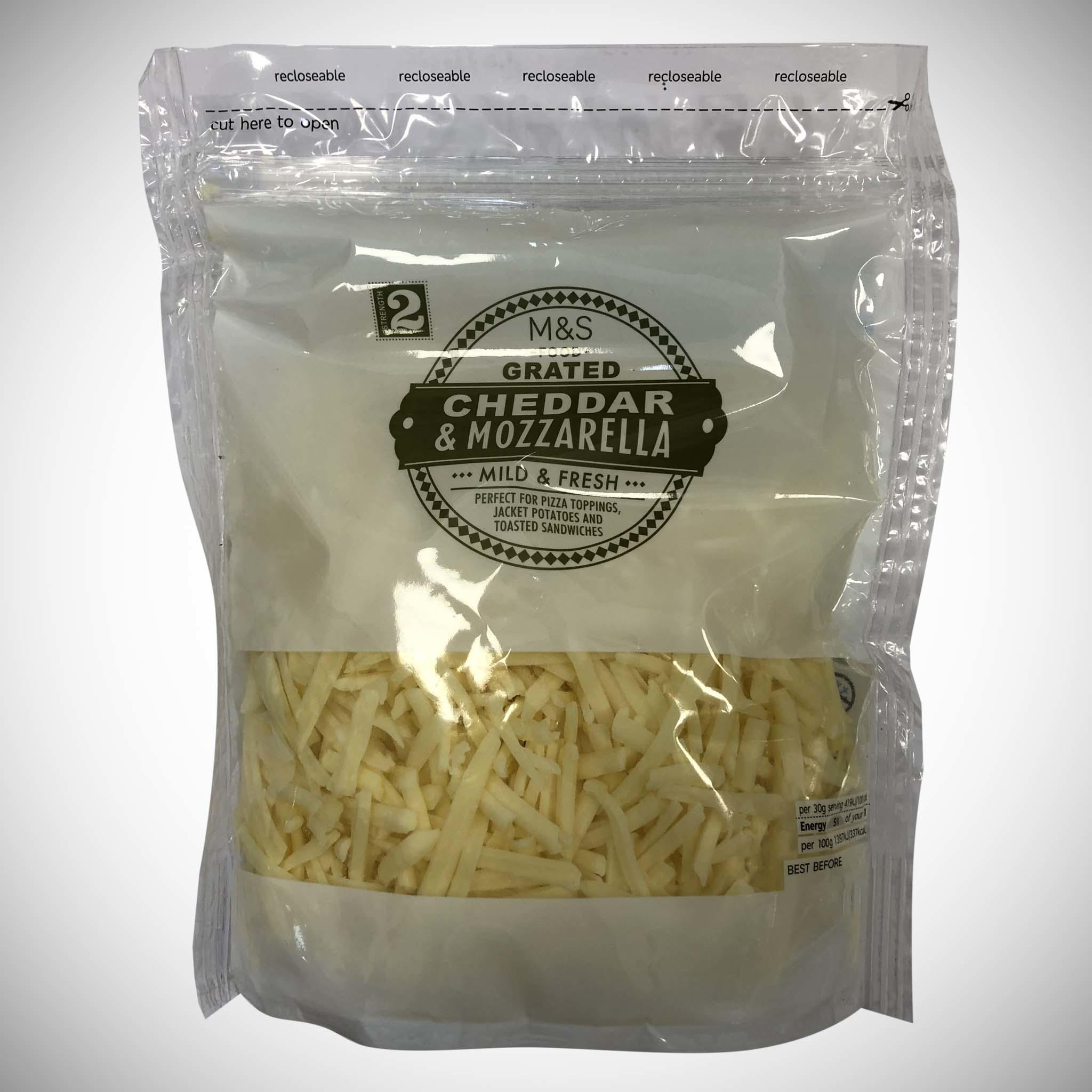 Grated Mozzarella & Cheddar Cheese