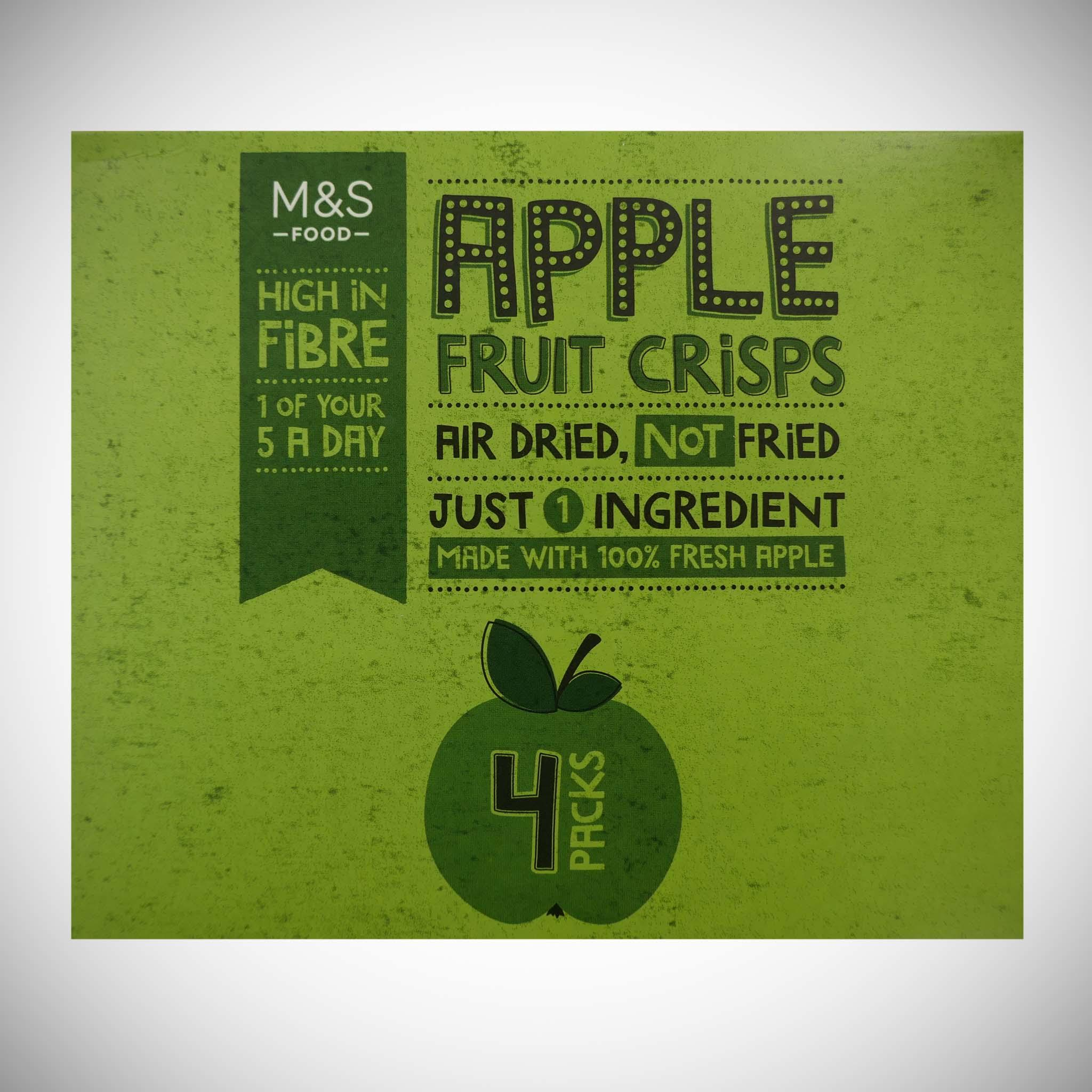 Apple Fruit Crisps