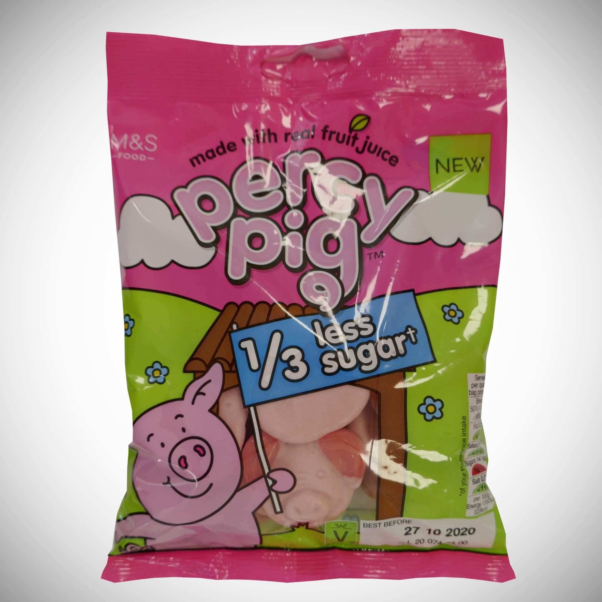 Reduced Sugar Percy 150g