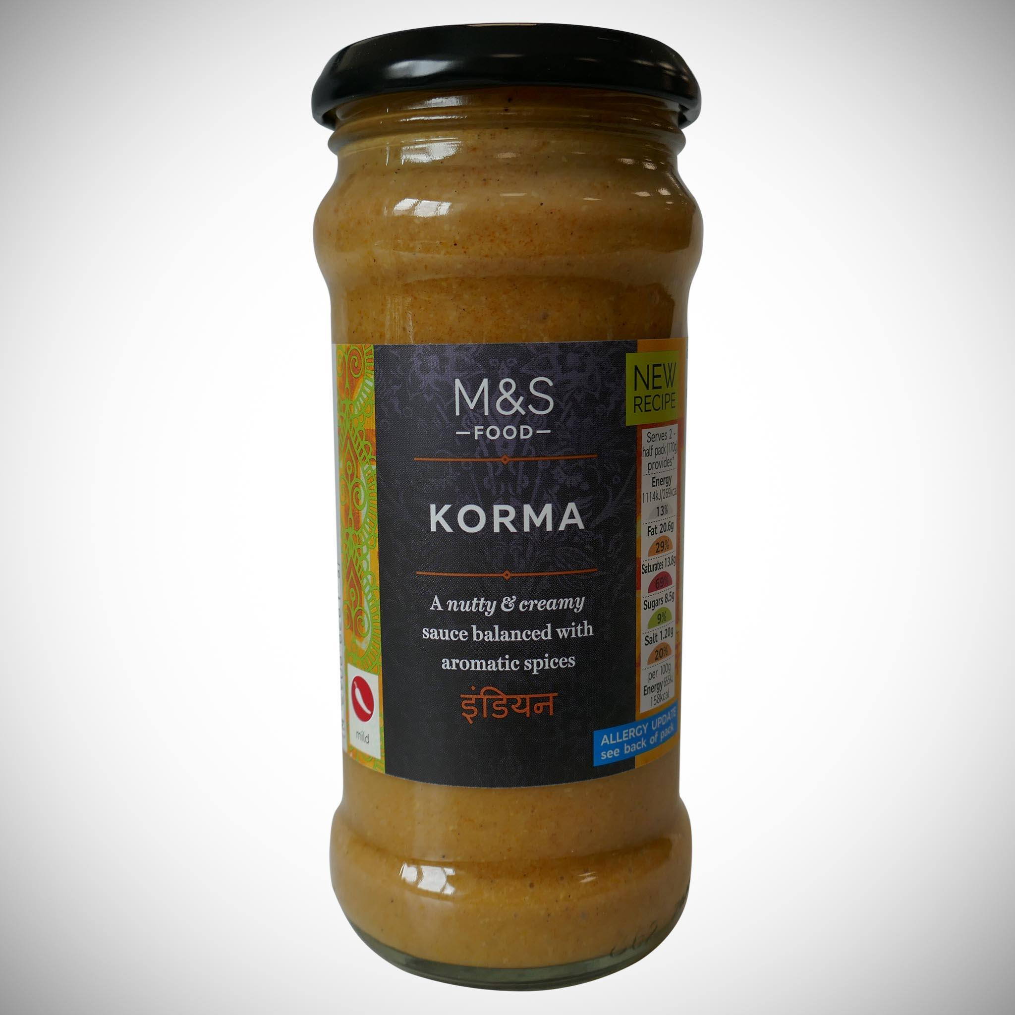 Korma Curry Sauce 340g