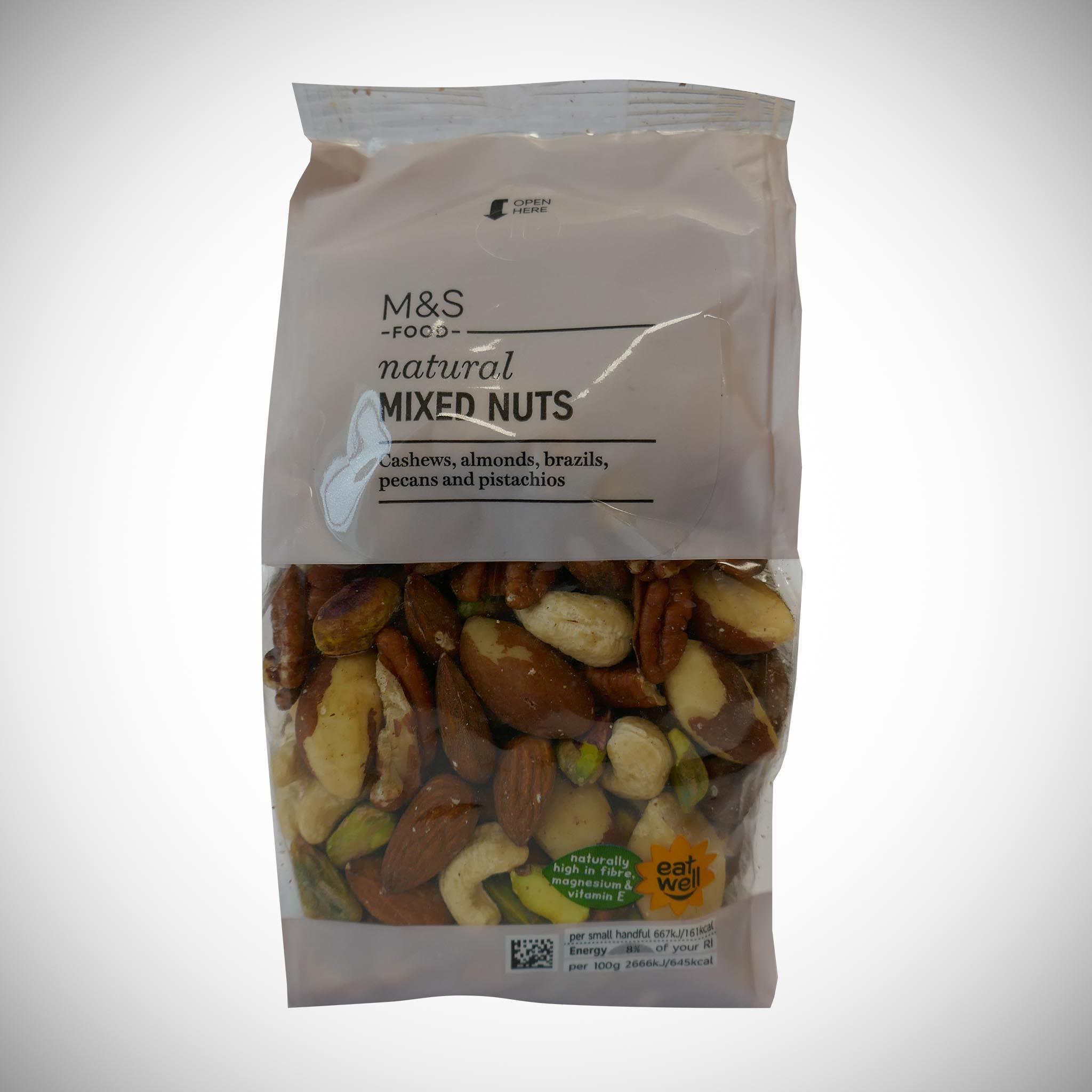 Natural Mixed Nuts 350g