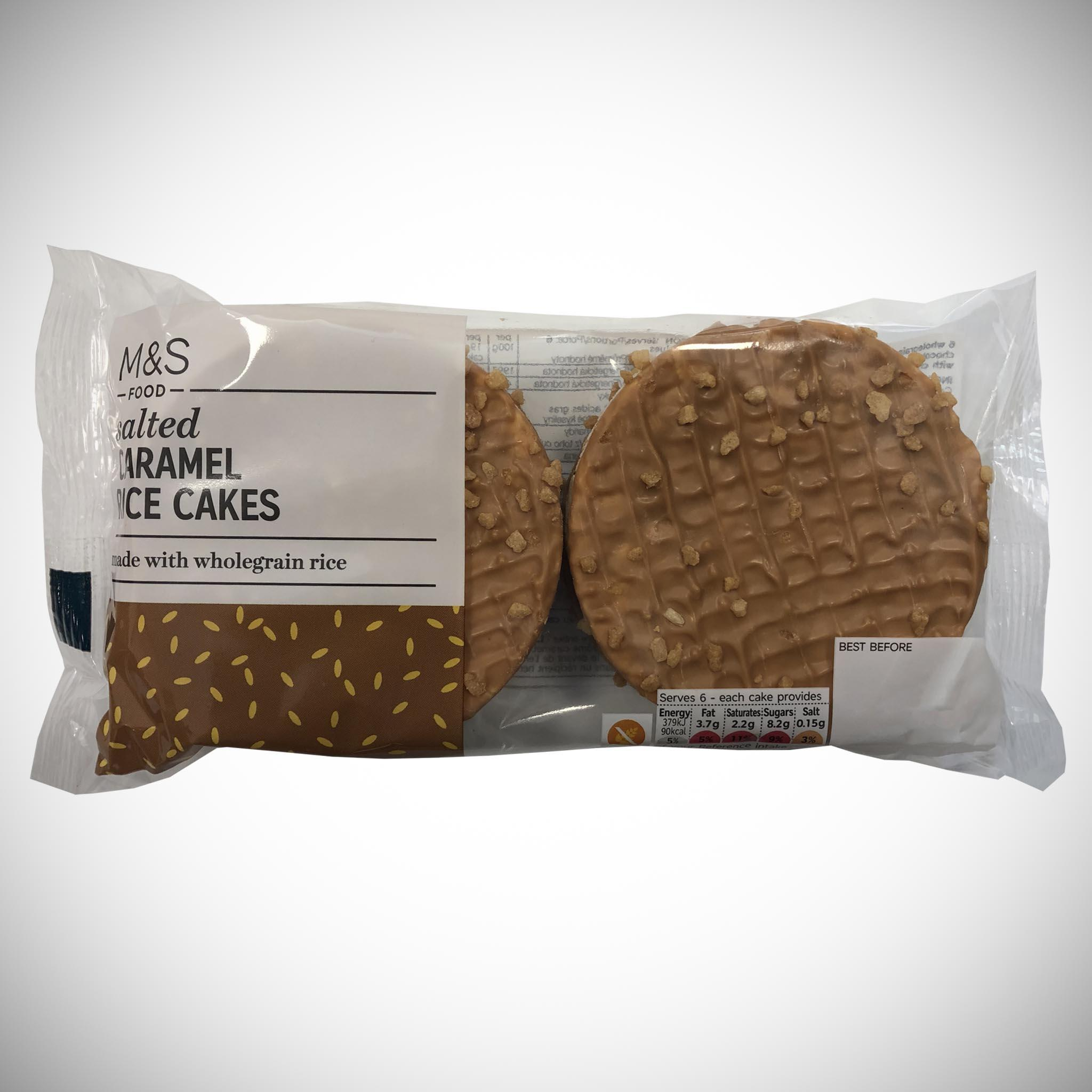Salted Caramel Rice Cakes 114g