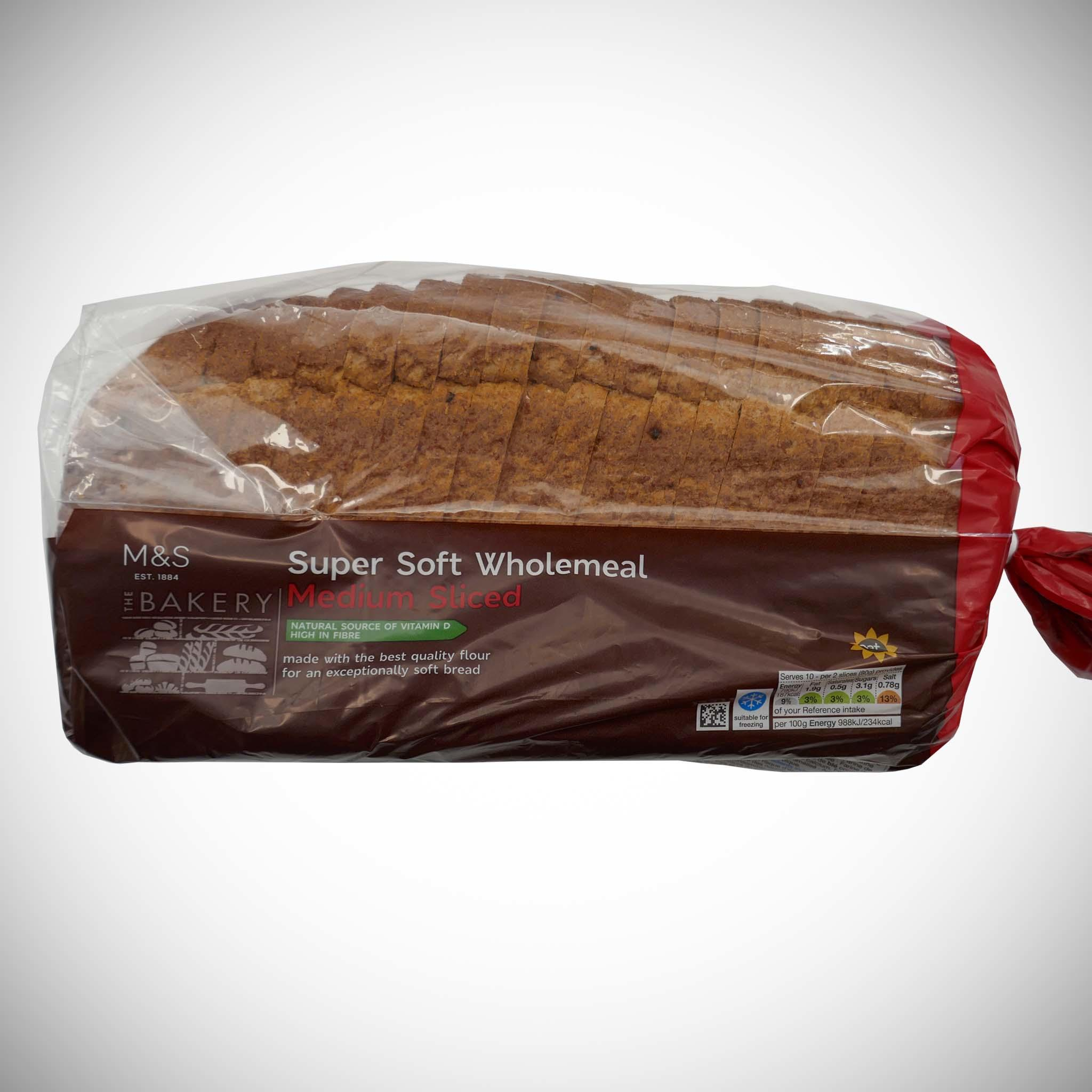 Wholemeal Medium Loaf 800g