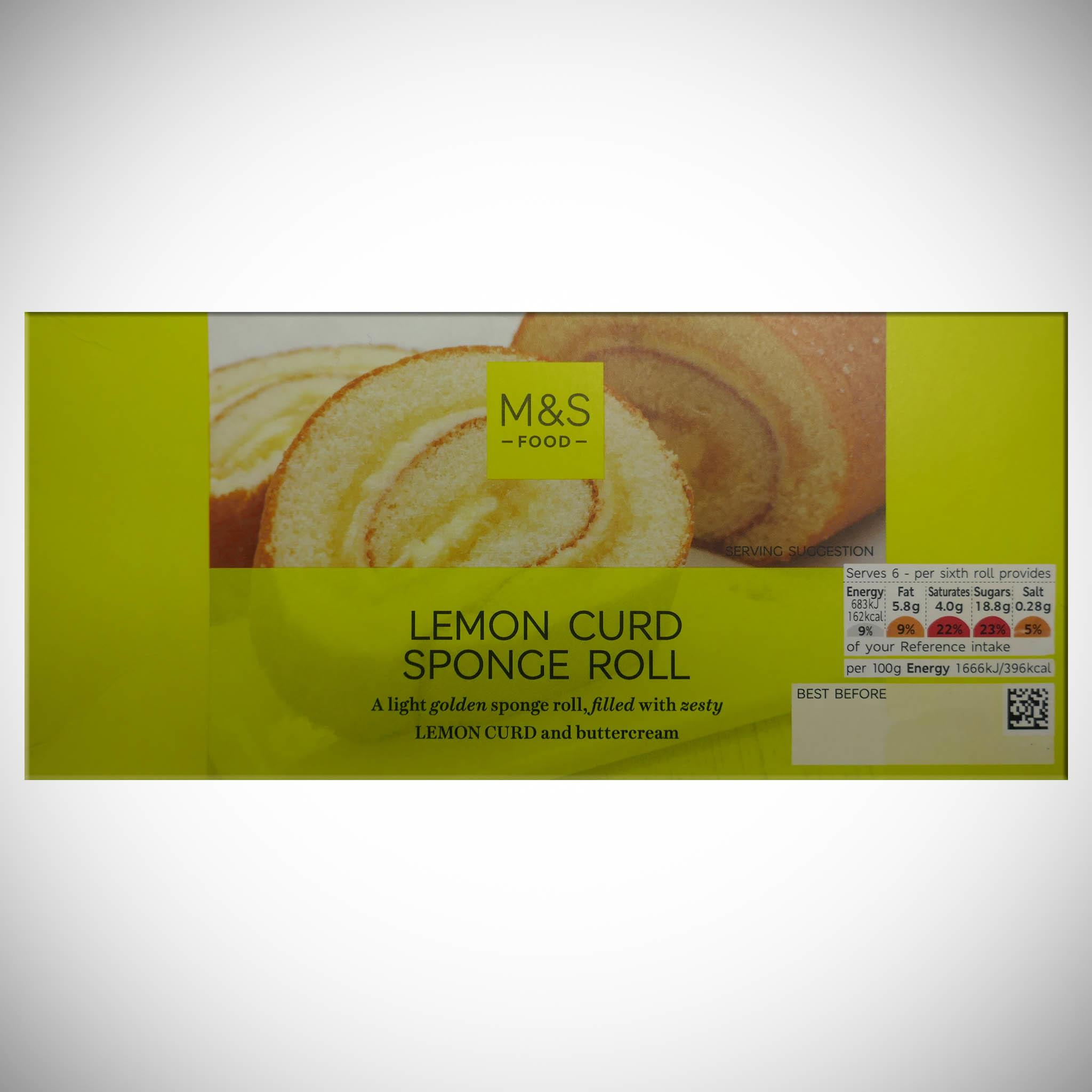 Lemon Swiss Roll 250g