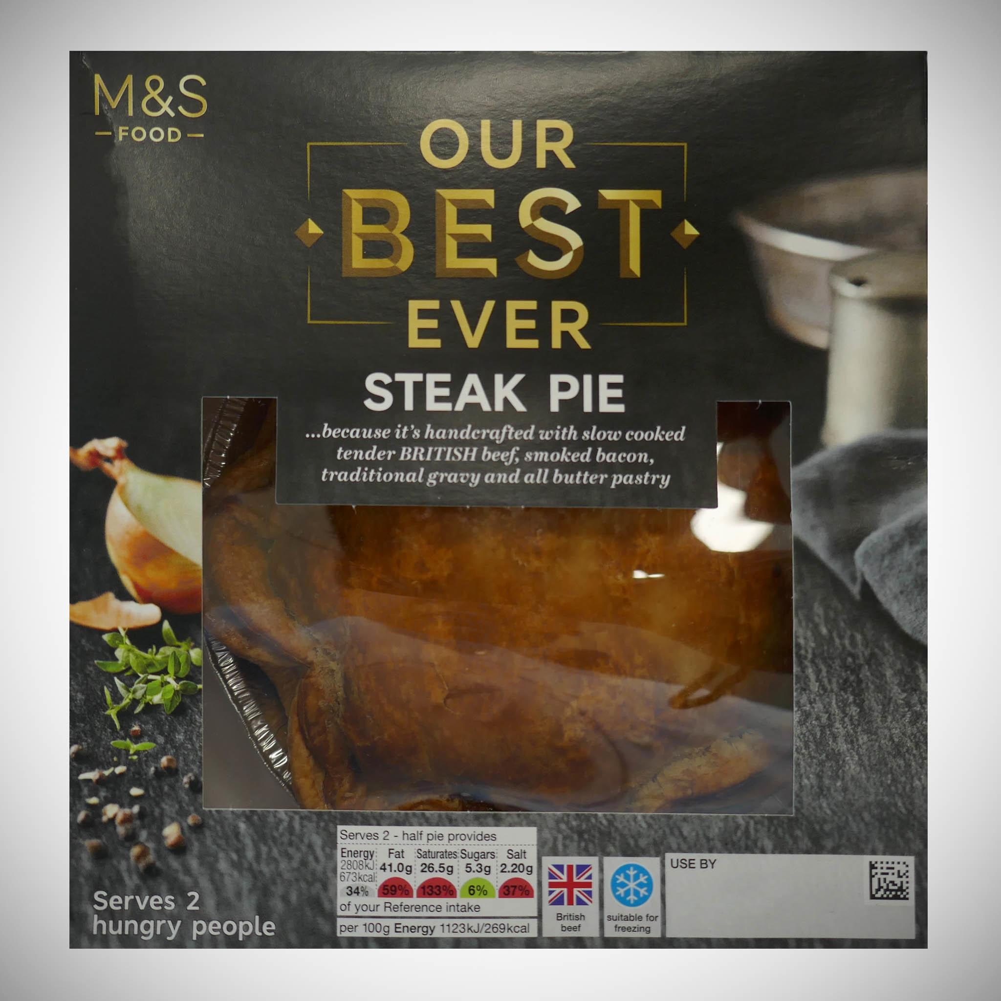 Our Best Ever Steak Pie 500g