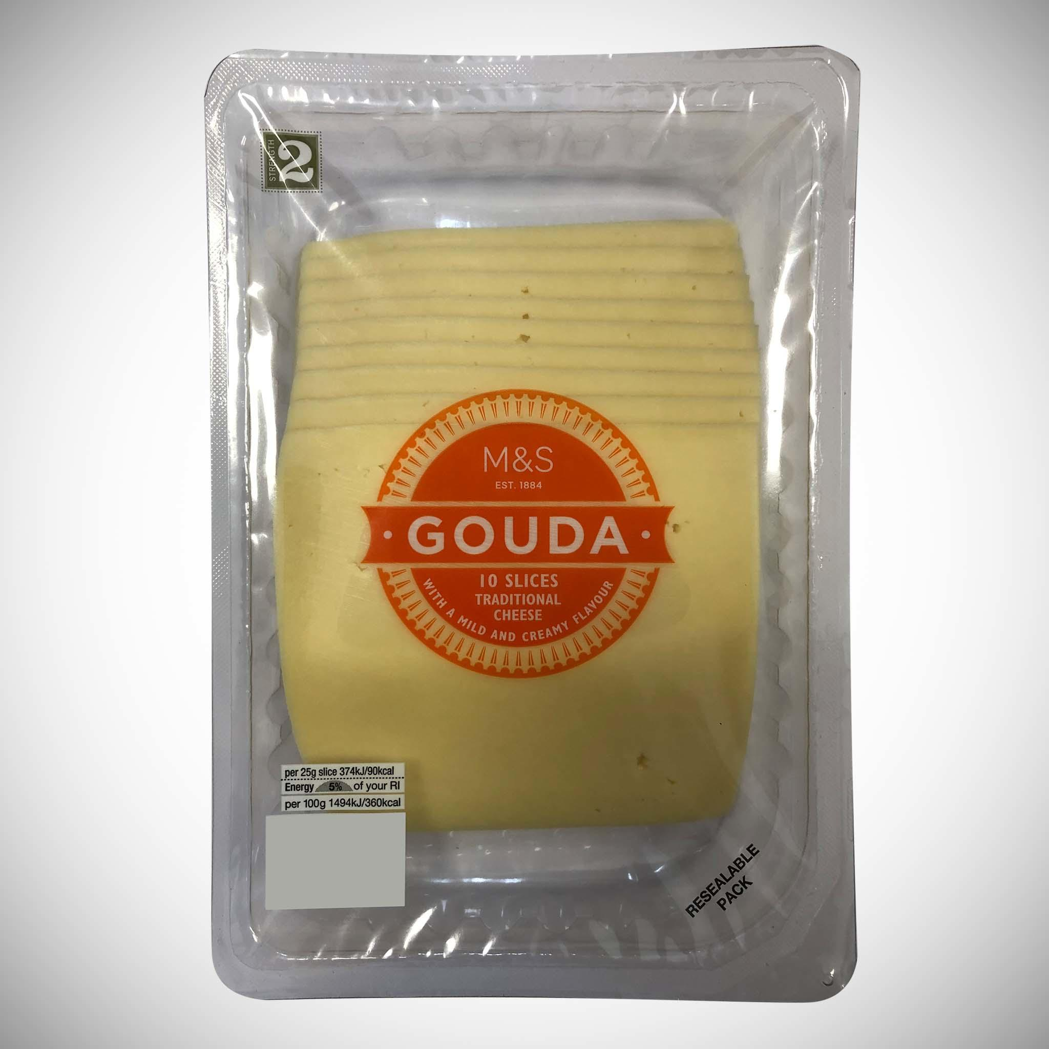 Gouda Sliced Cheese