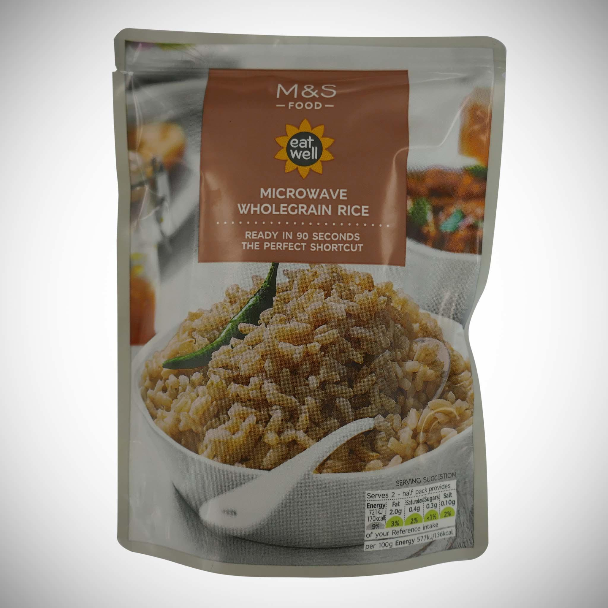 Microwave Wholegrain Rice