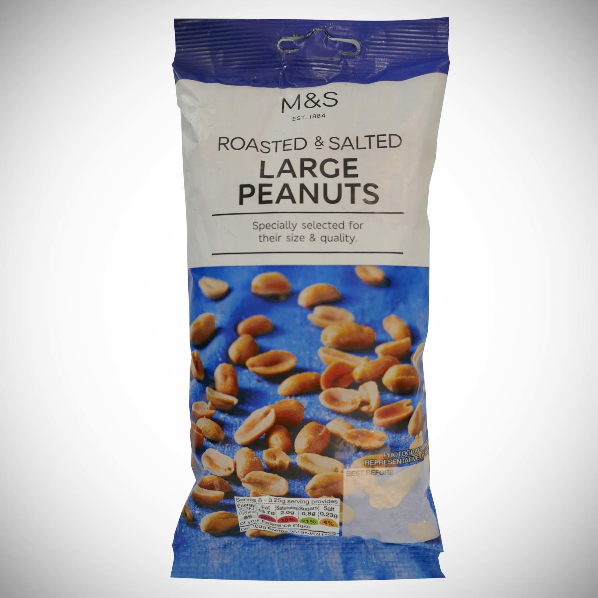 Roasted & Salted Peanuts 200g