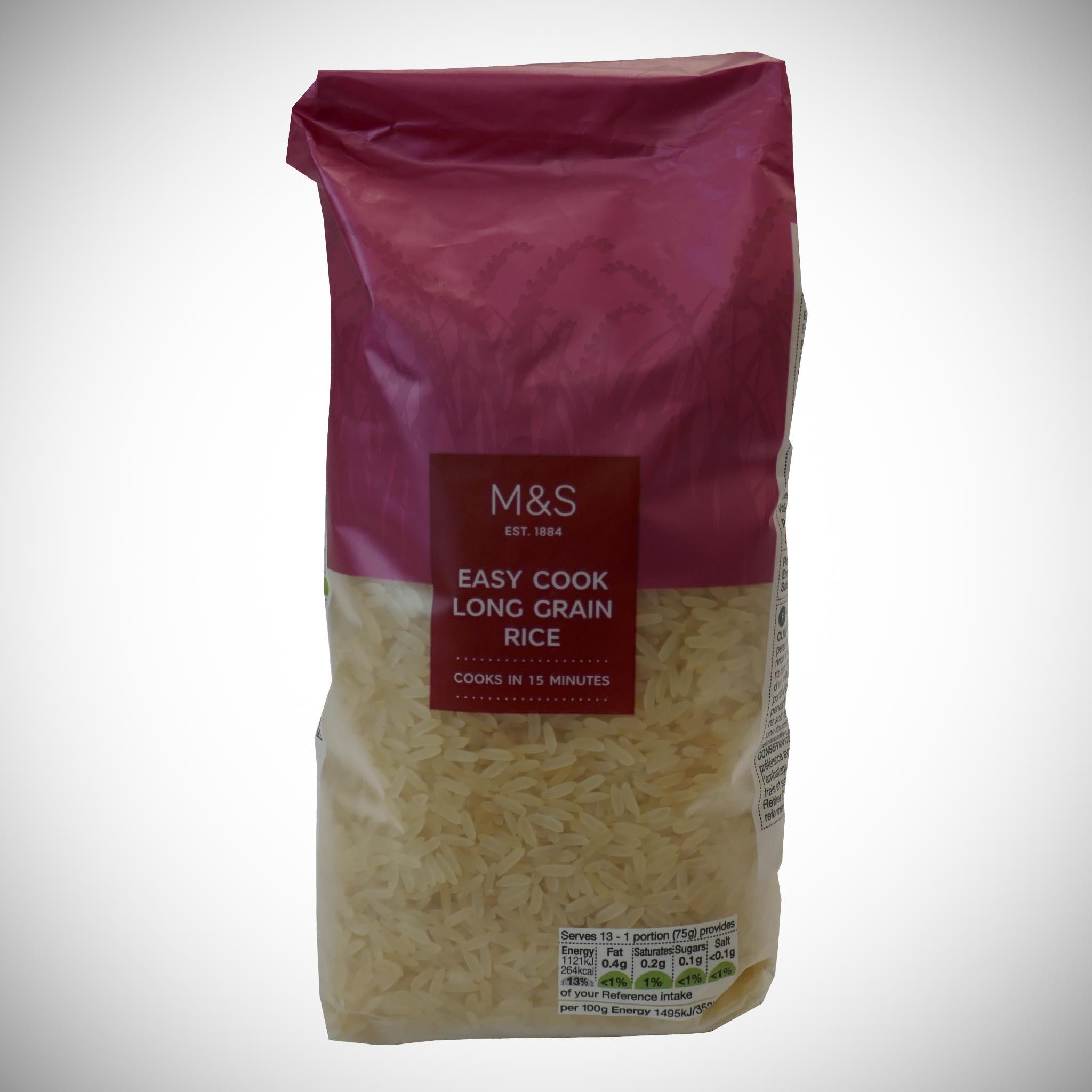 Easy Cook Long Grain Rice 1kg