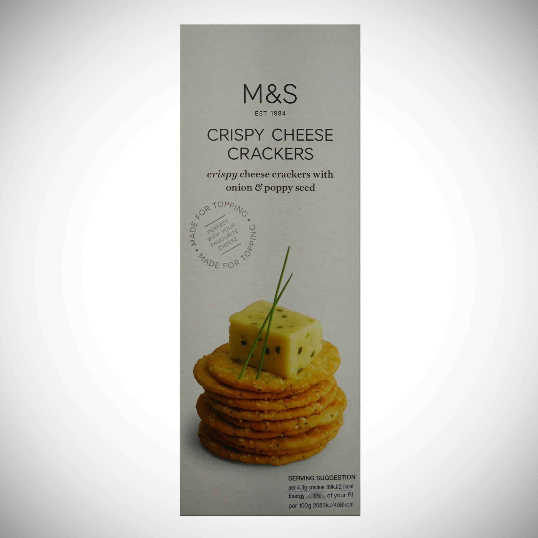 Cheese Crackers 150g