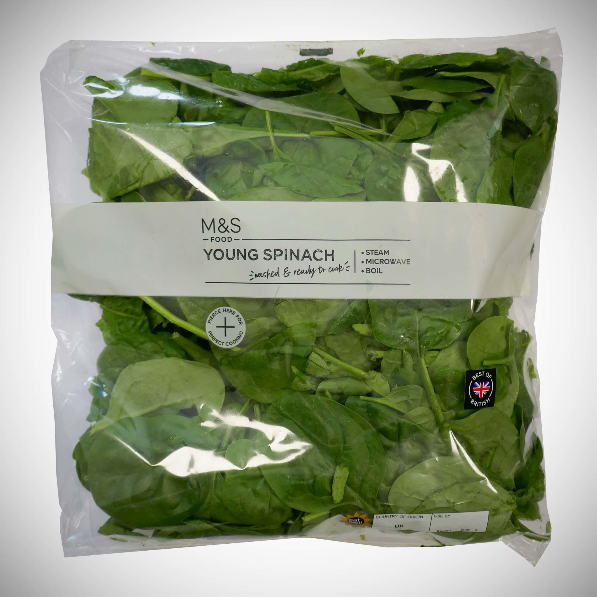 Young Spinach 320g