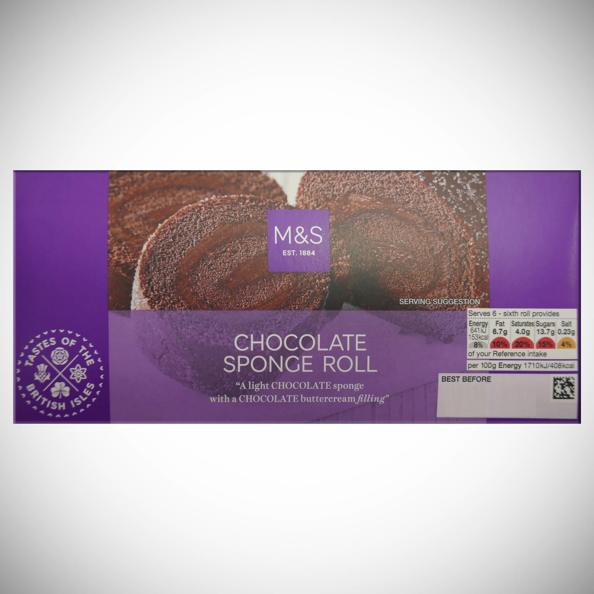 Extremely Chocolatey Swiss Roll 240g