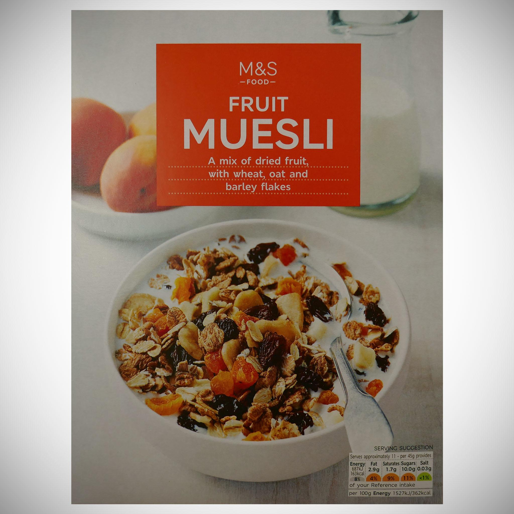 Fruit Muesli 500g