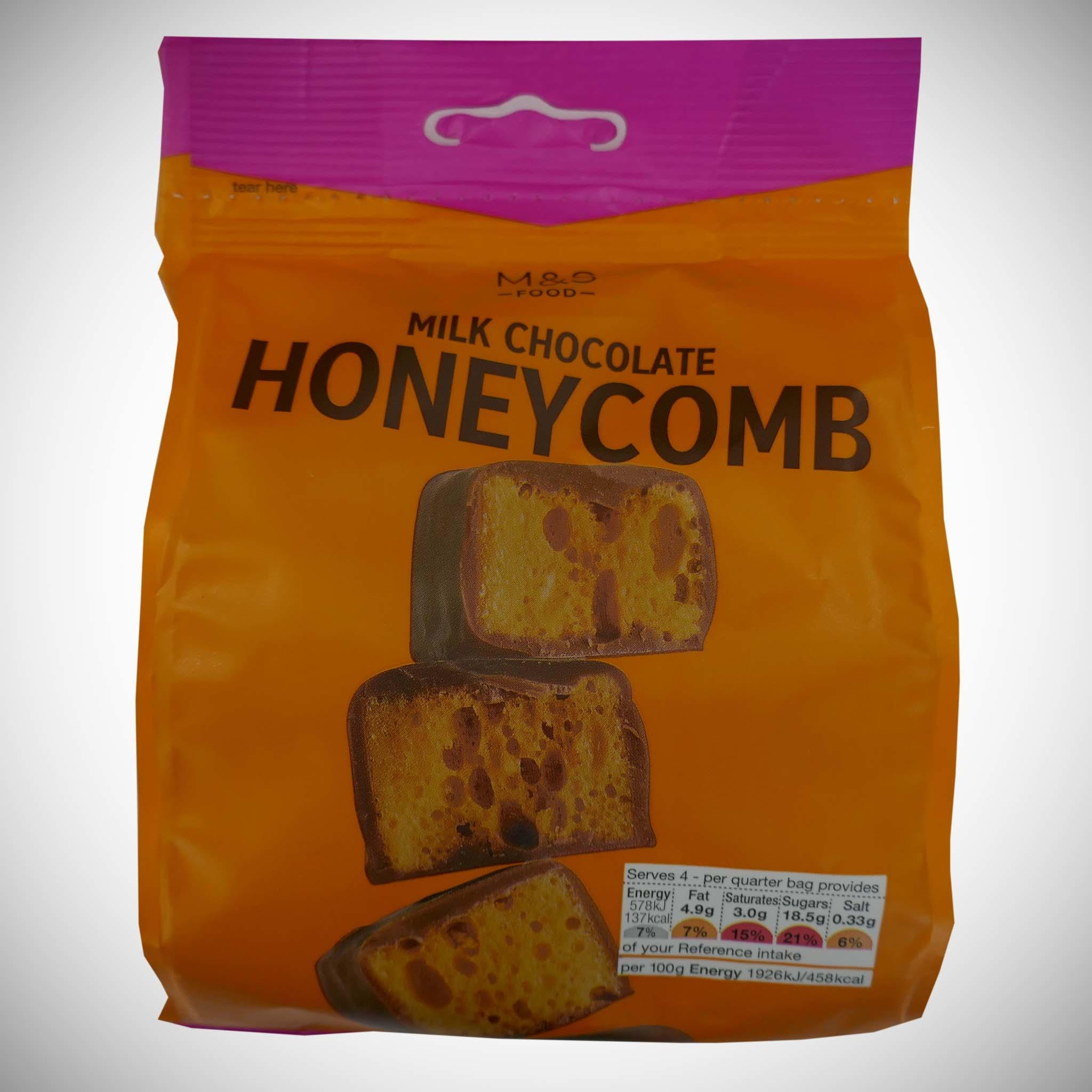 Milk Chocolate Smothered Honeycomb 120g