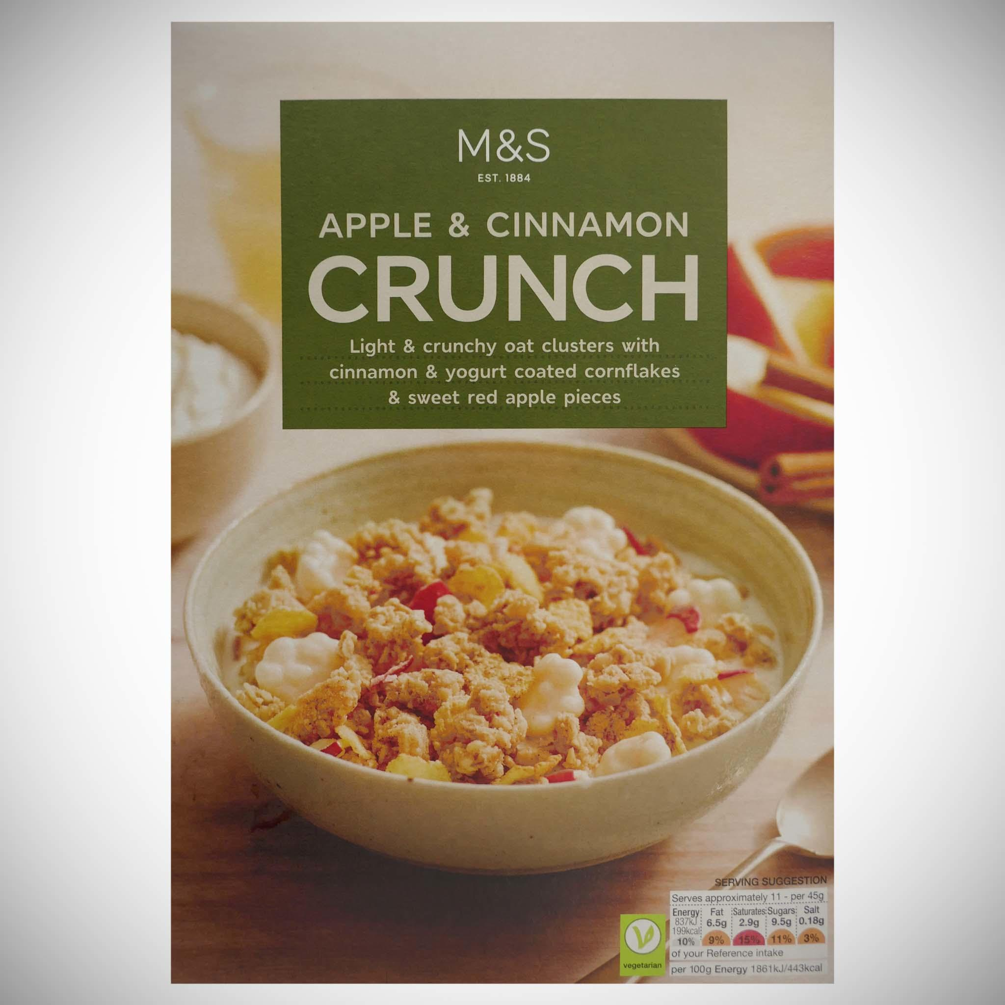 Apple & Cinnamon Crunch