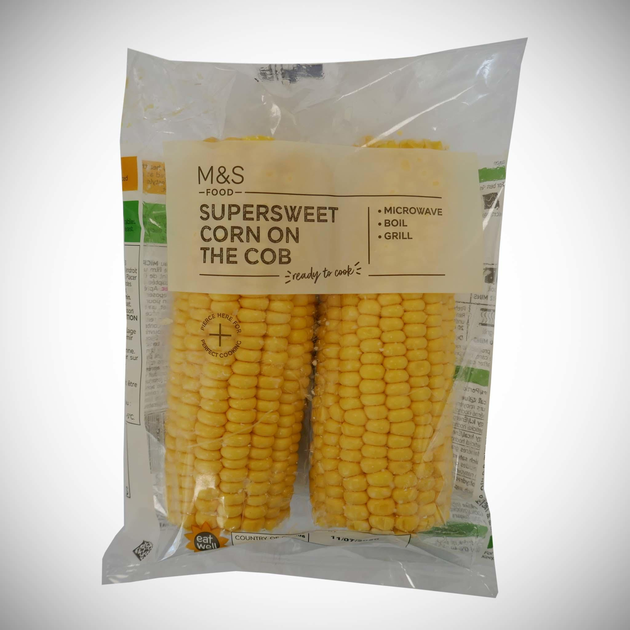 Supersweet Corn on the Cob x 2