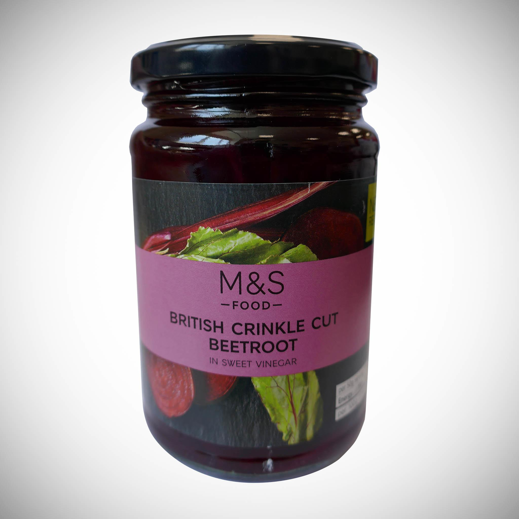 British Crinkle Cut Beetroot