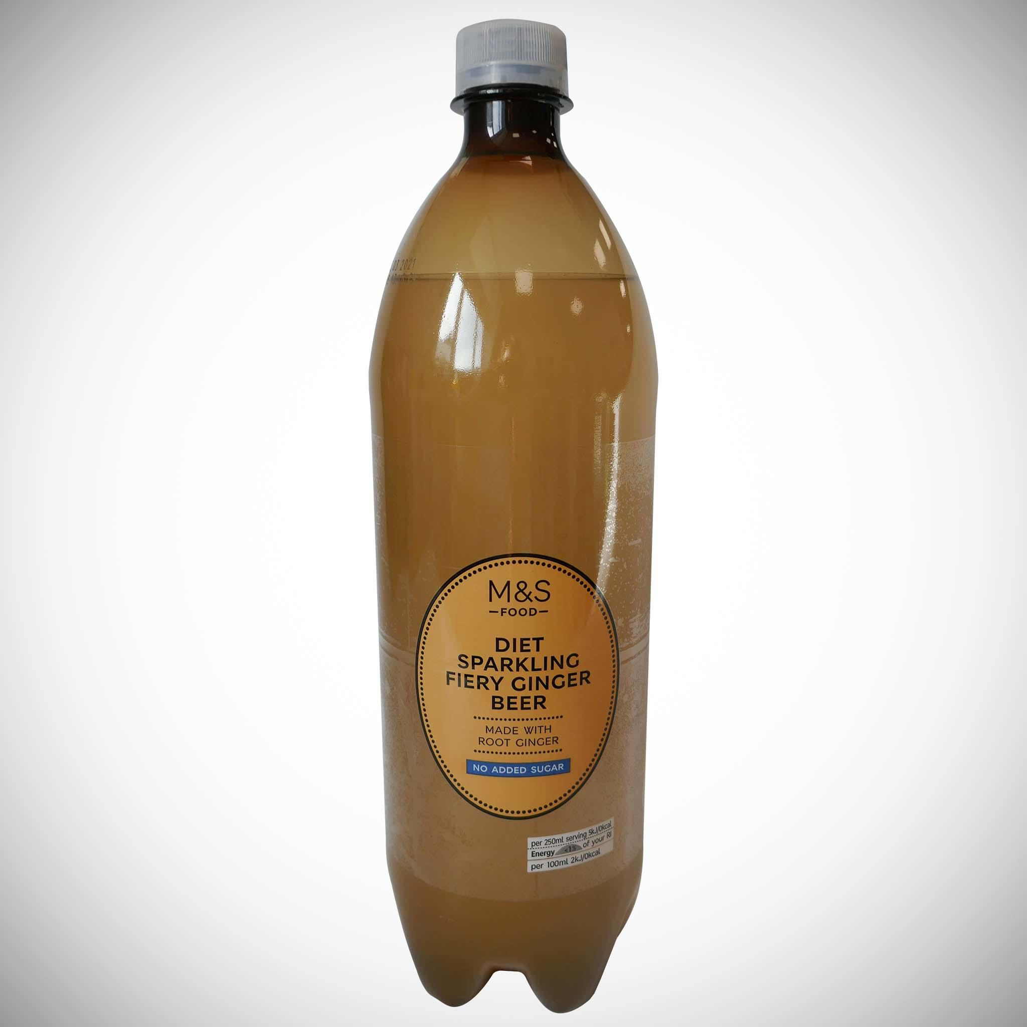 Diet Fiery Ginger Beer 1l