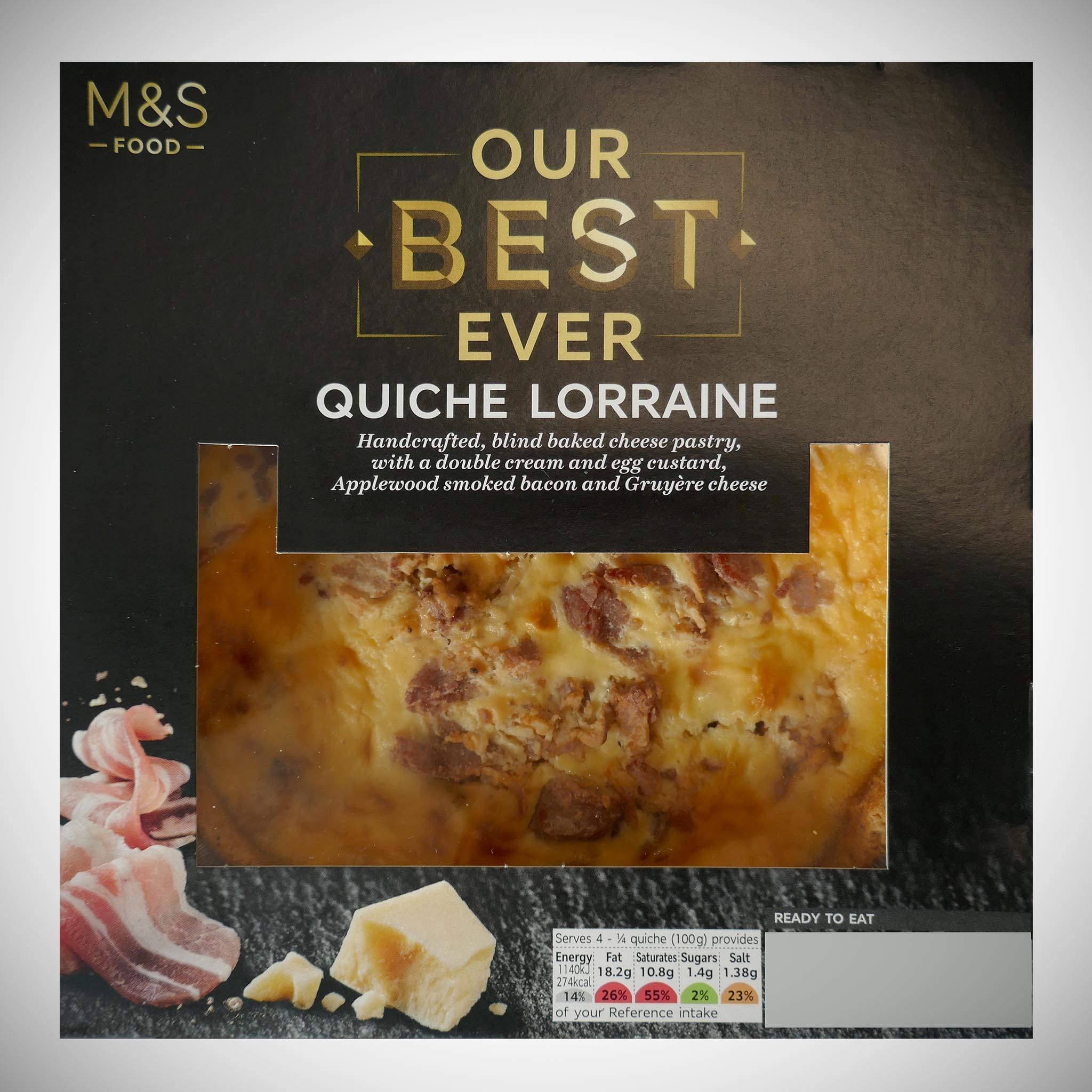 Our Best Ever Quiche Lorraine 400g