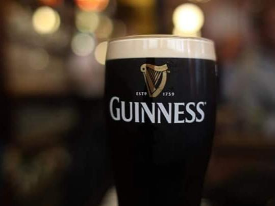 Cold Guinness on Draught