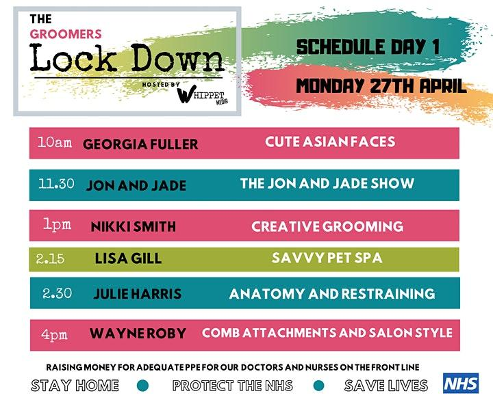 The Groomers Lockdown Event
