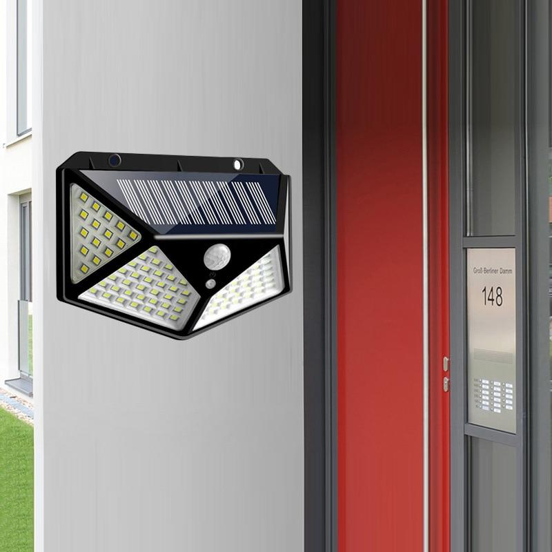 LED outdoor solar light fitted